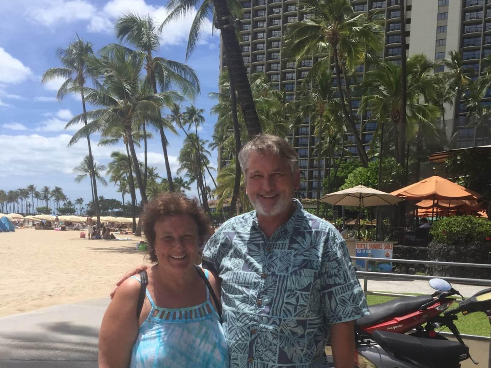Margaret & Keith from Seattle, Washington, United States