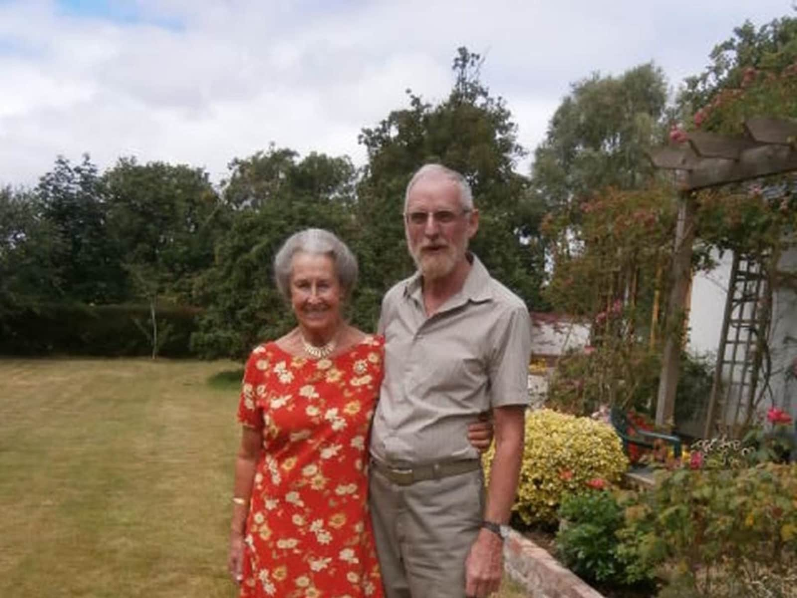 Pam & Roger from Exeter, United Kingdom