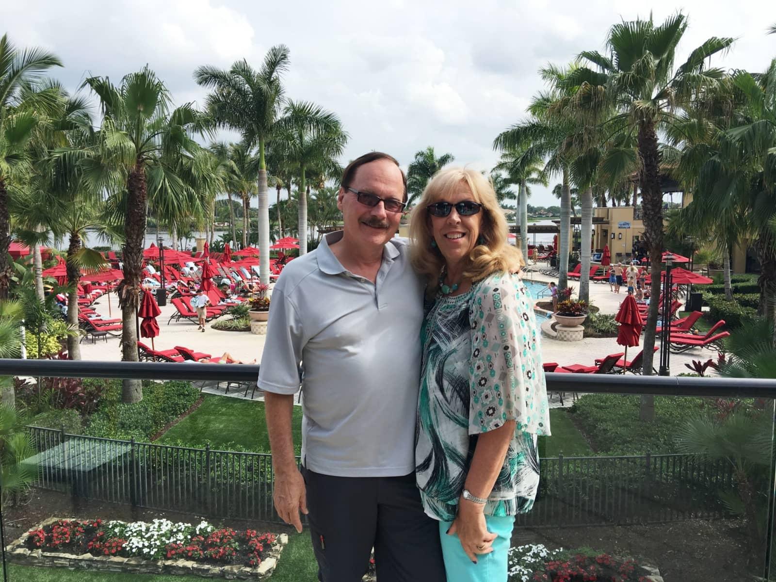 Robert & Carol from Fort Pierce, Florida, United States