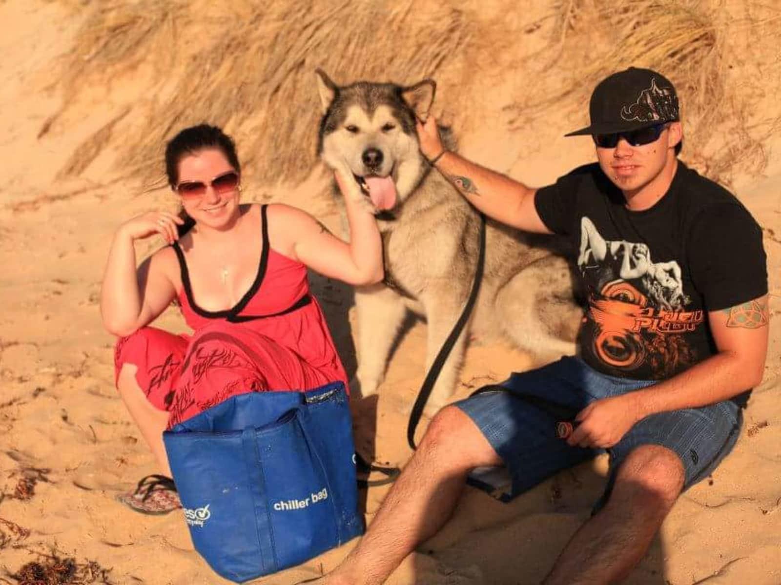Robyn & Jarryd from Perth, Western Australia, Australia