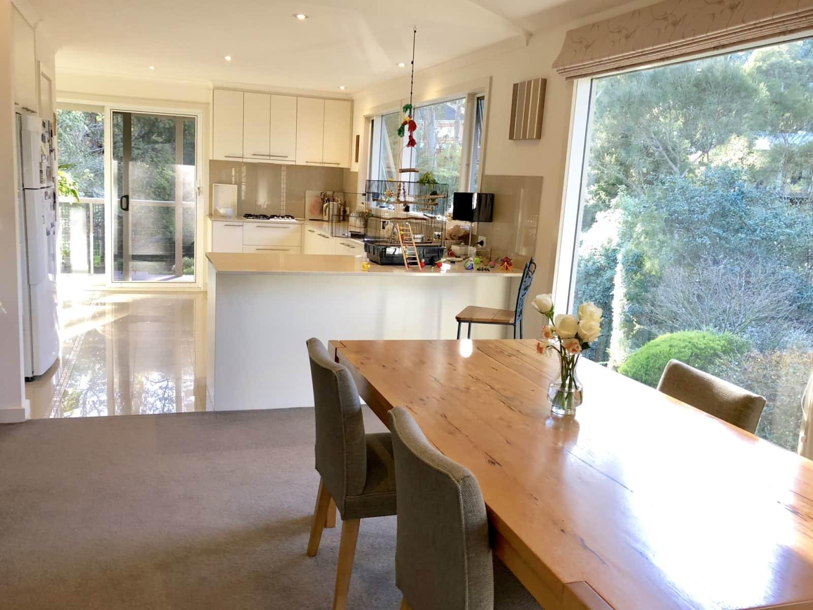 Housesitting assignment in Warrandyte, Victoria, Australia