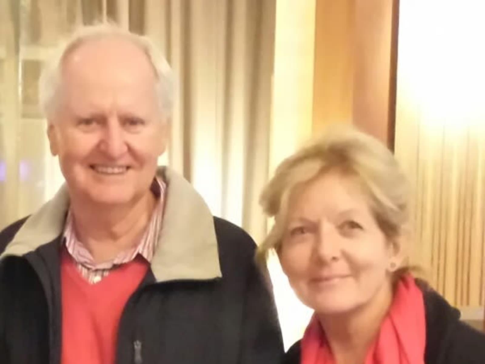 Judith & Raymond from San Remo, Italy