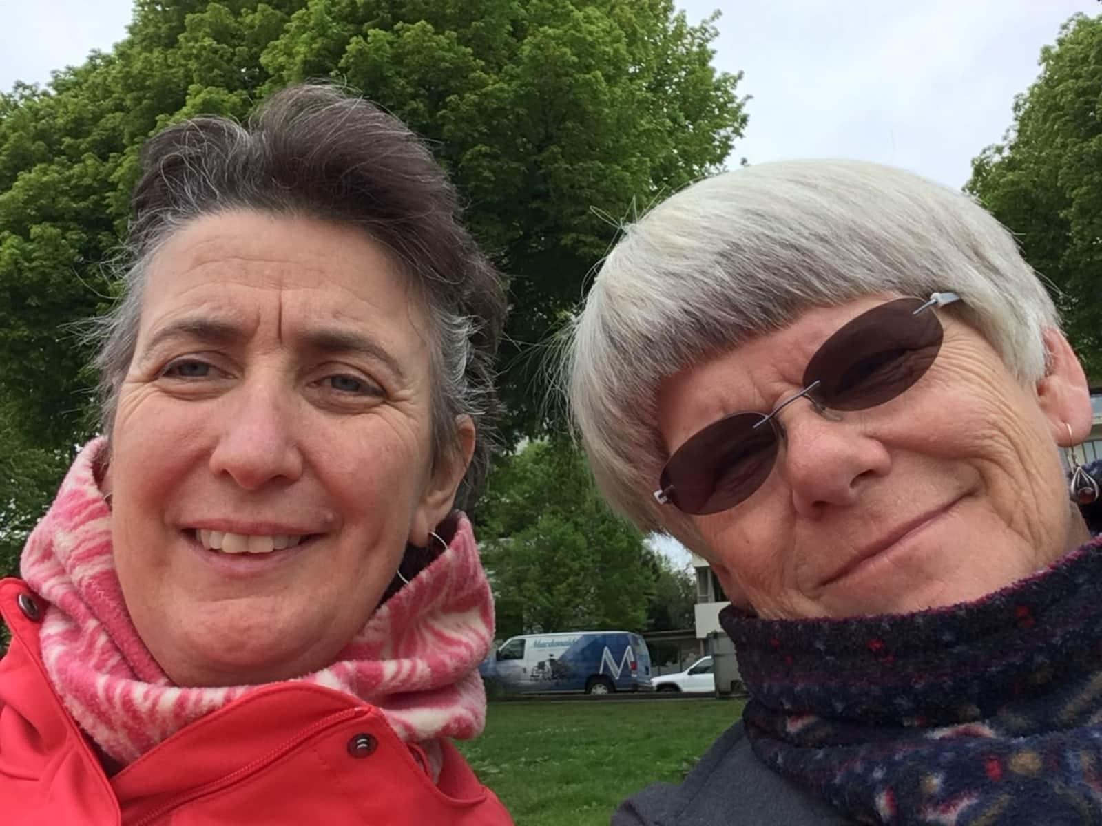 Anne & Sheila from Victoria, British Columbia, Canada