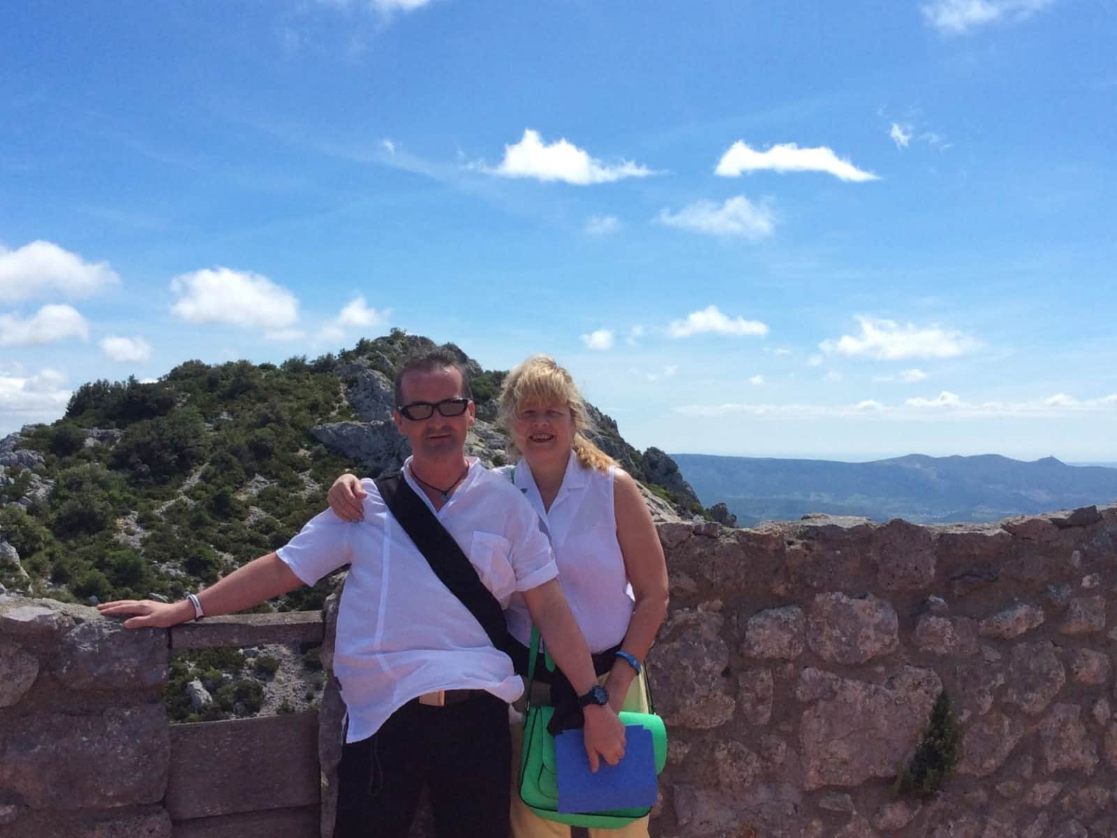 Lia & Stephen from Comrie, United Kingdom