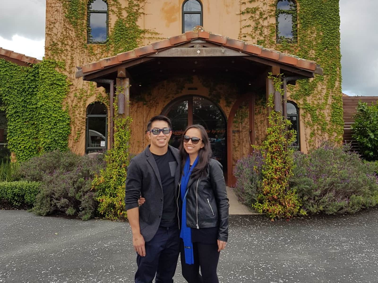 Kathleen & Angelo from Auckland, New Zealand
