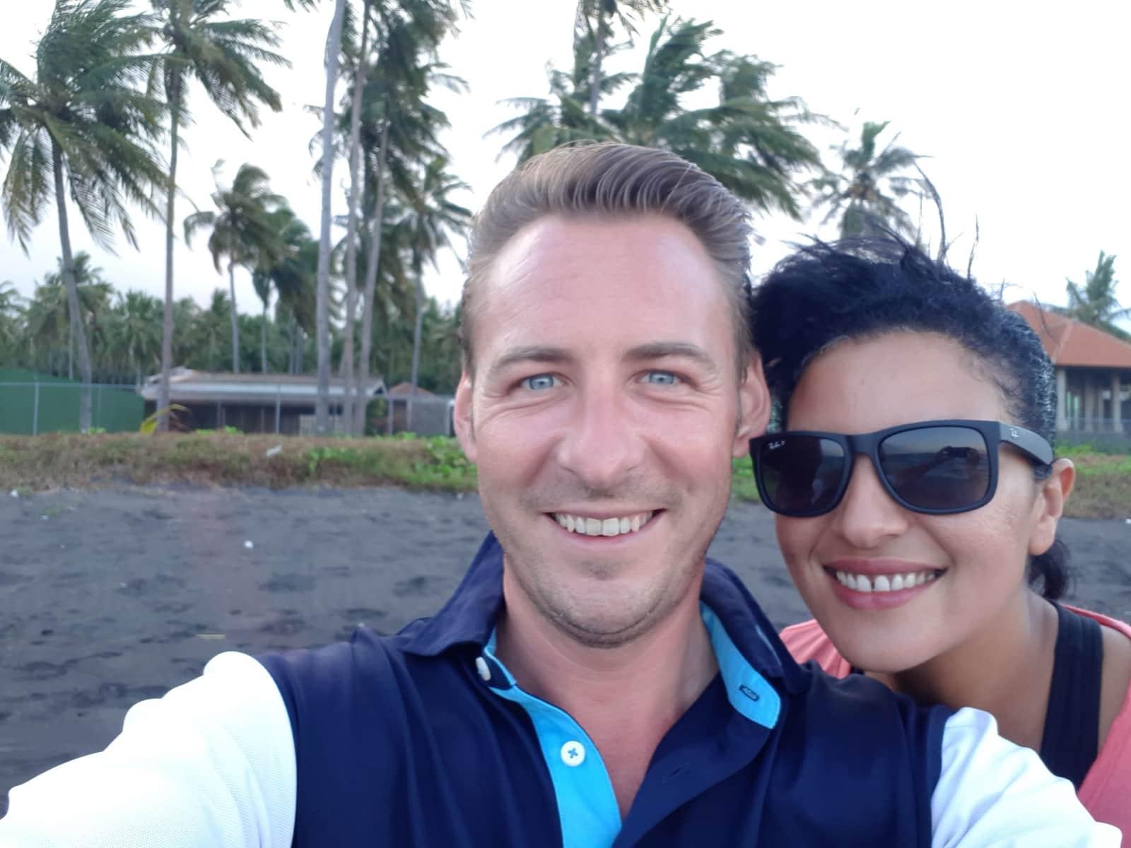 Benoit & Saida from Palavas-les-Flots, France