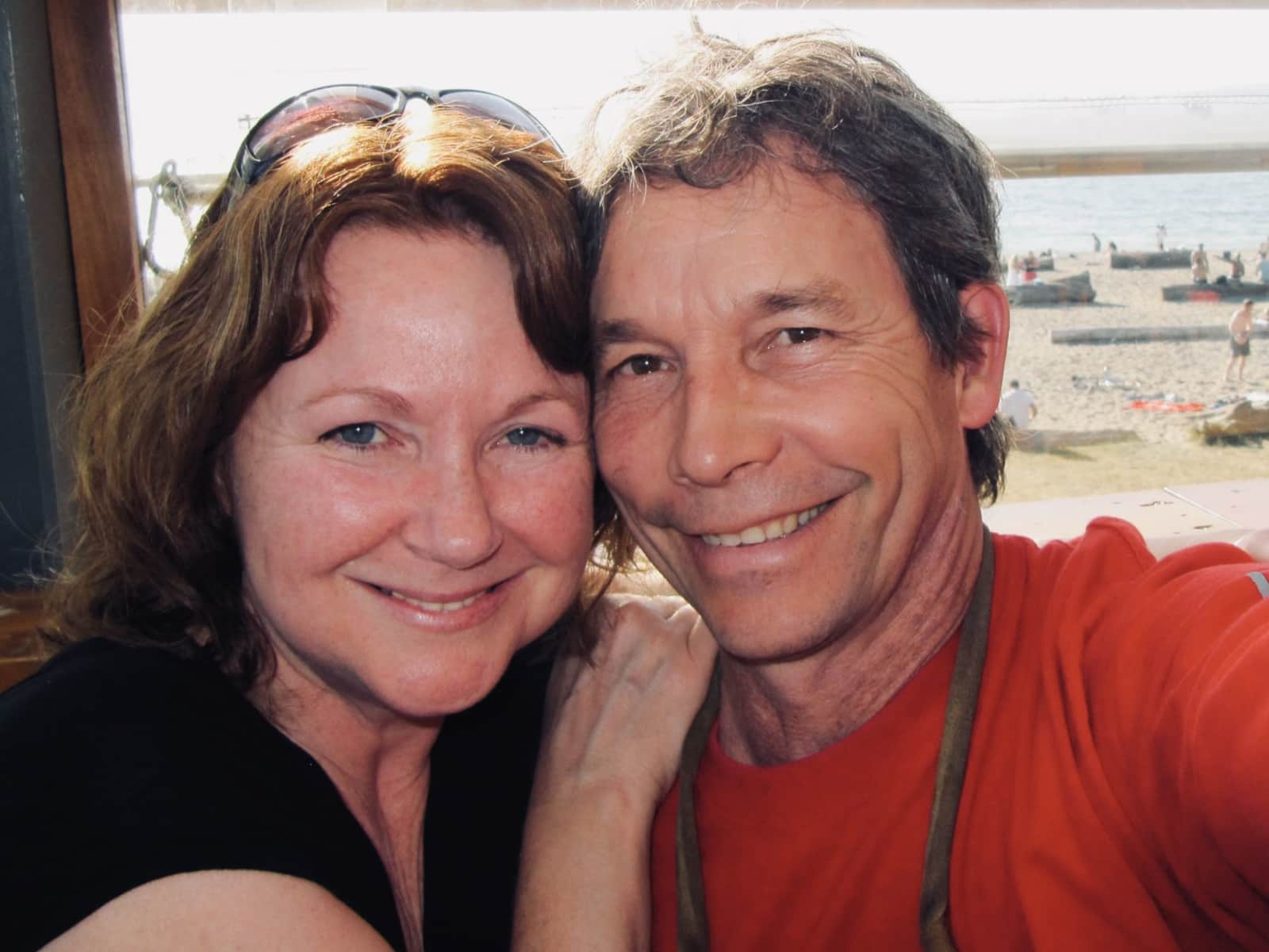 Kim & George from Victoria, British Columbia, Canada