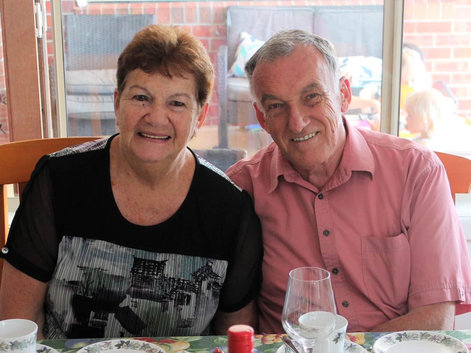 Carol & John from Melbourne, Victoria, Australia