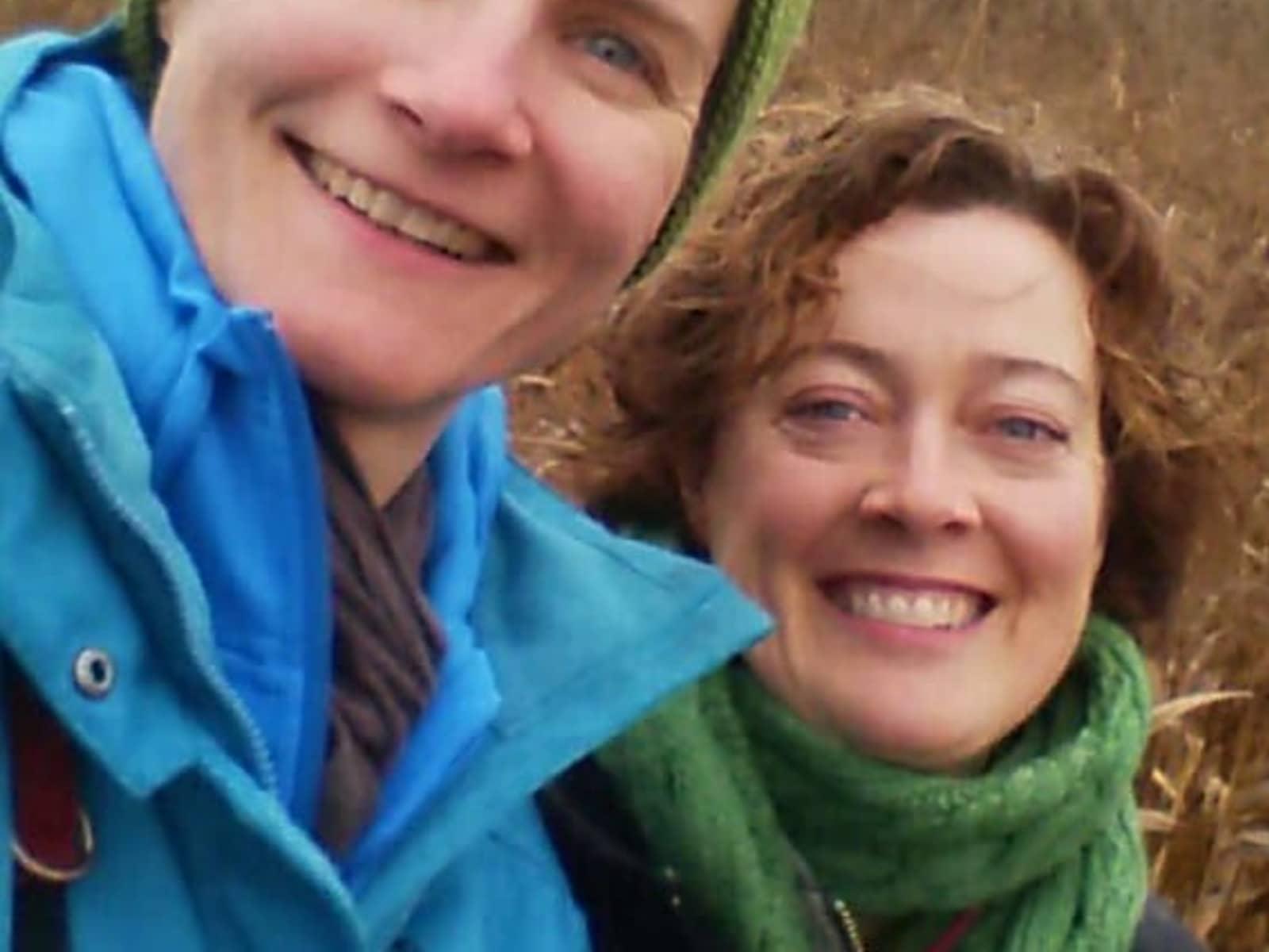 Paige & Annika from Vienna, Austria