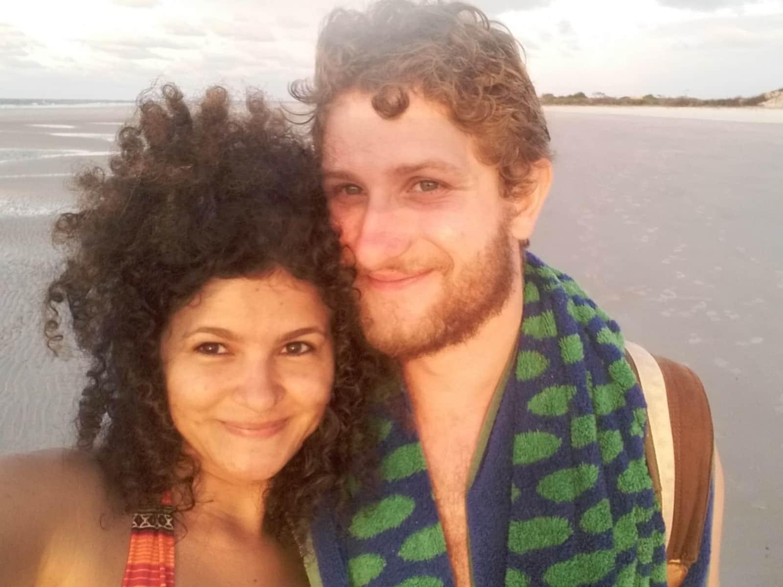Hugo & Priscila from Paris, France
