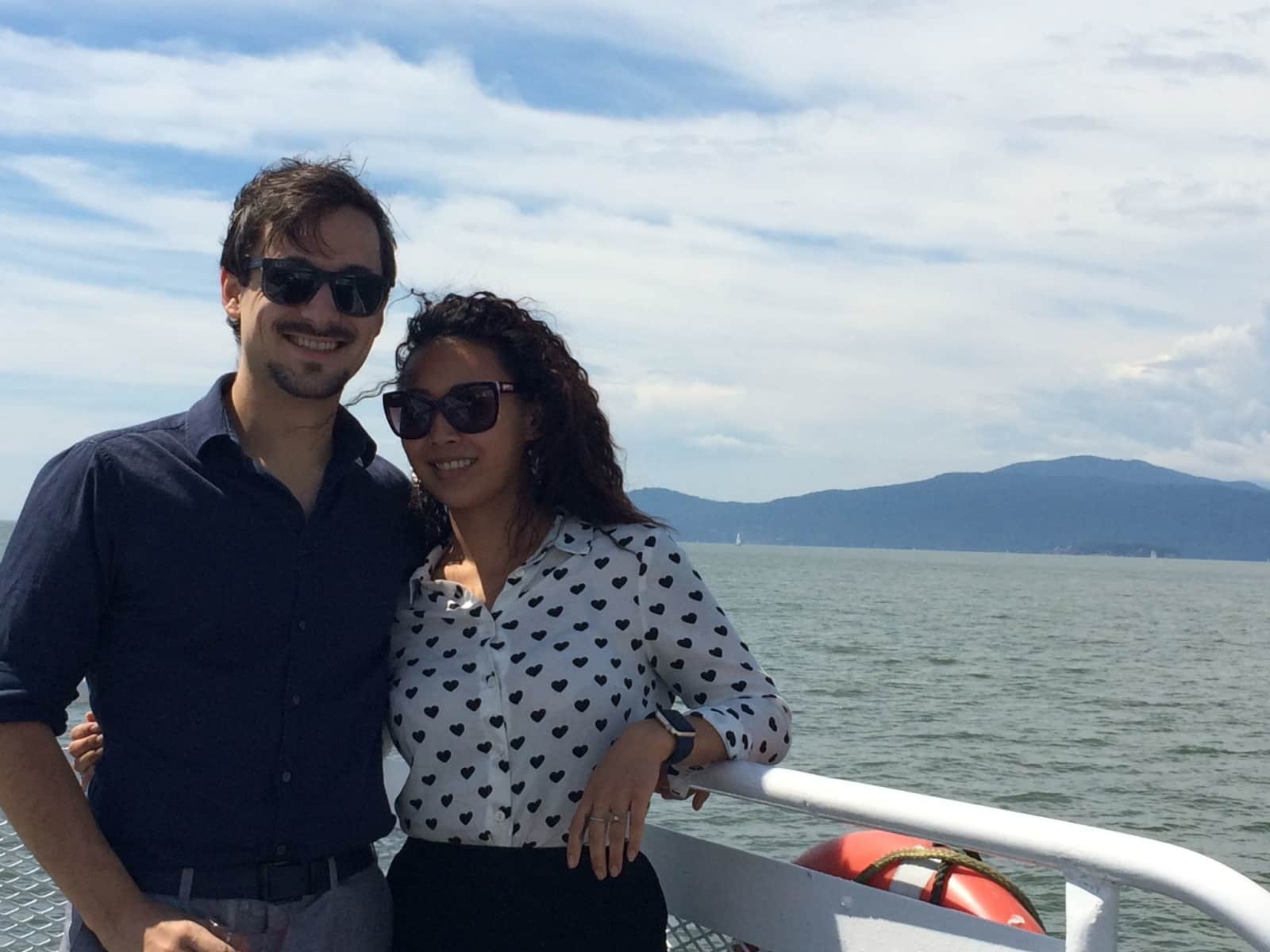 Arnold & Stephanie from Vancouver, British Columbia, Canada