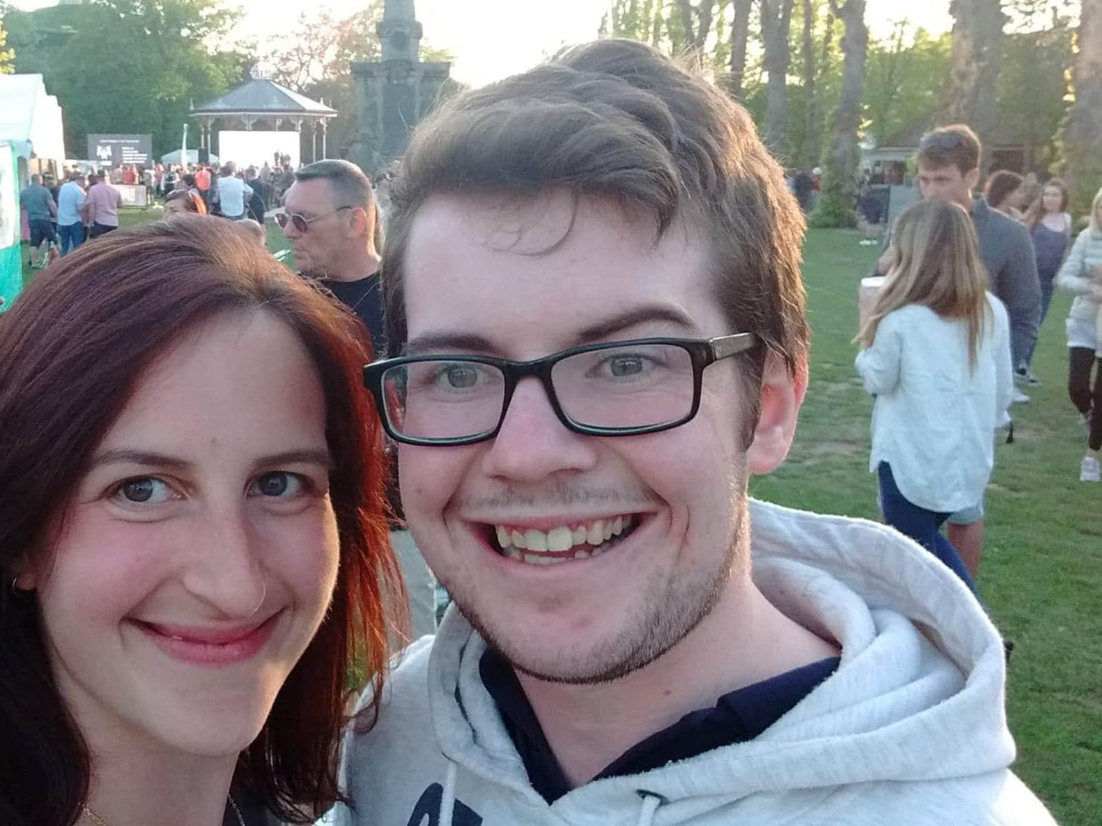 Susie & Ciaran from Brighton, United Kingdom