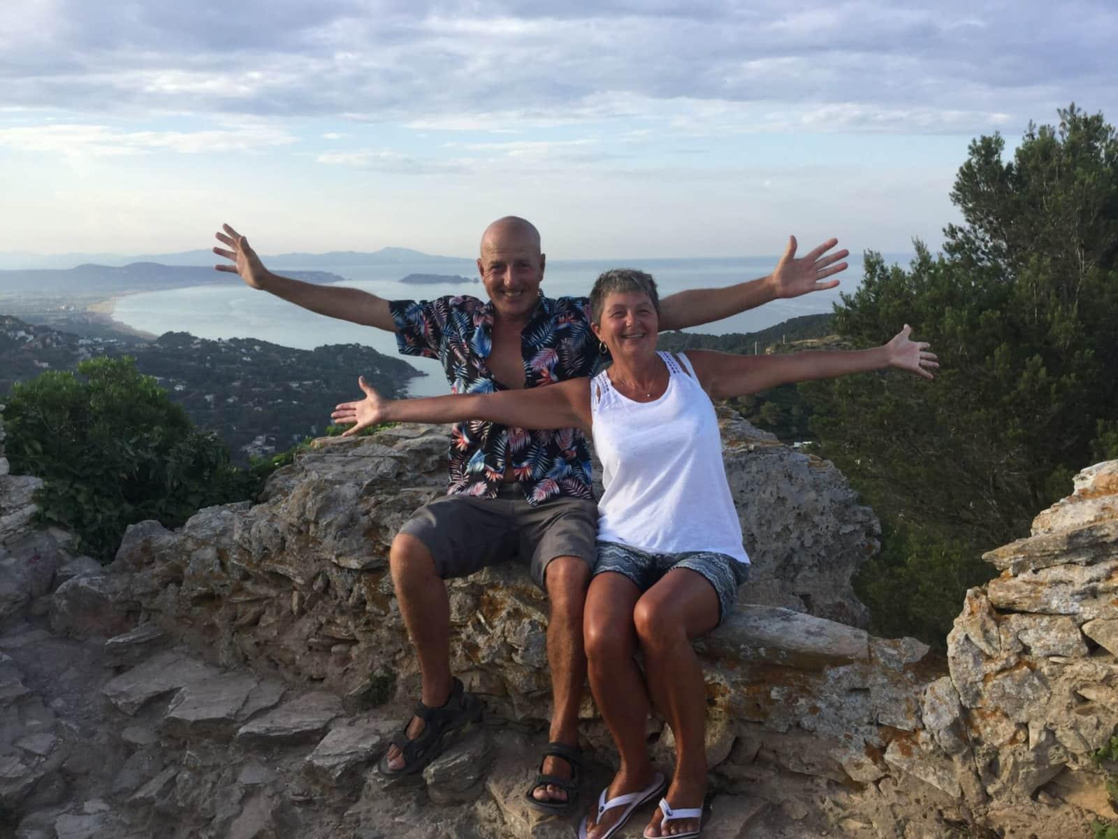 Ann & Stuart from London, United Kingdom