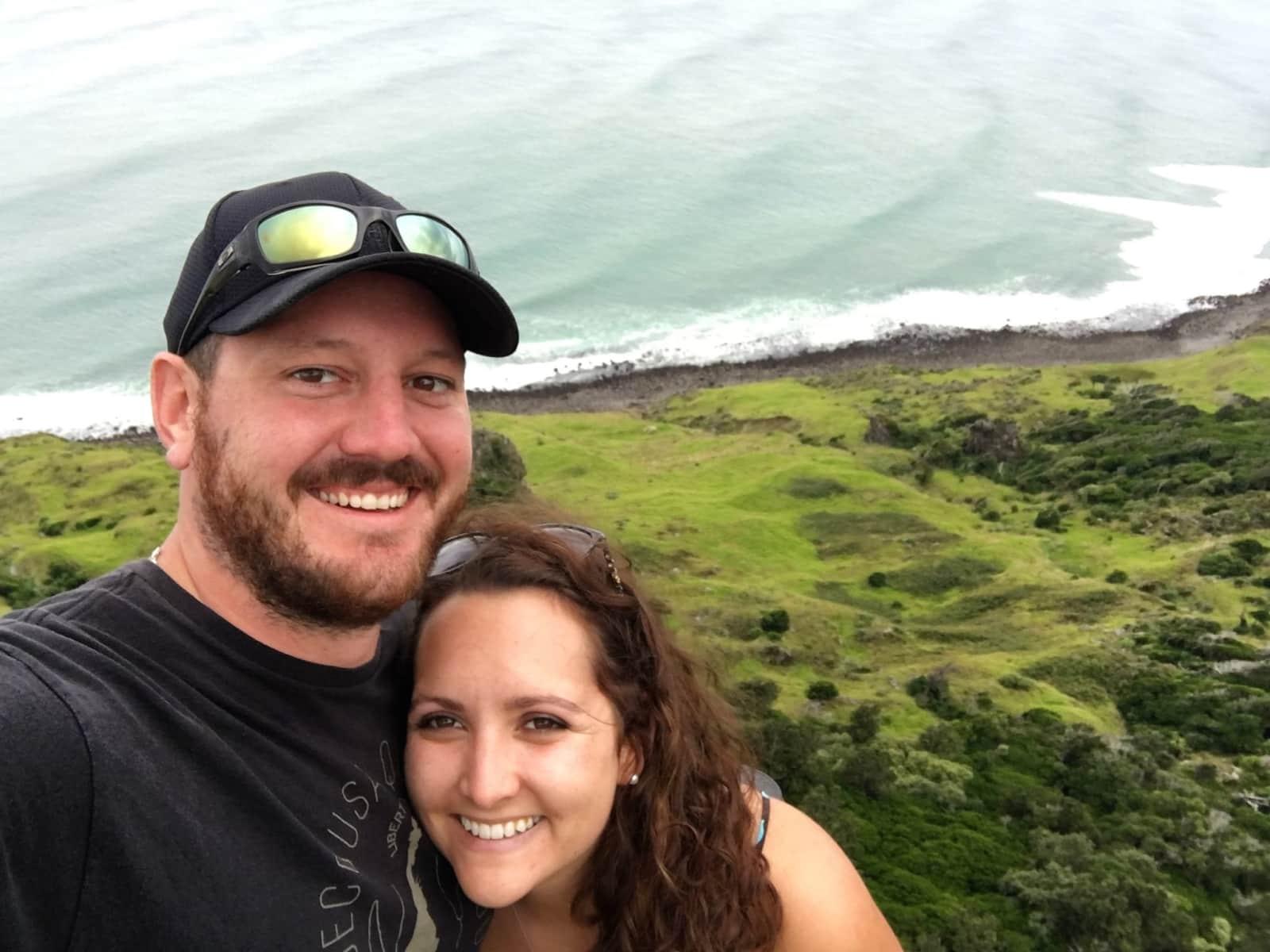 Erin & Matthew from Hamilton, New Zealand