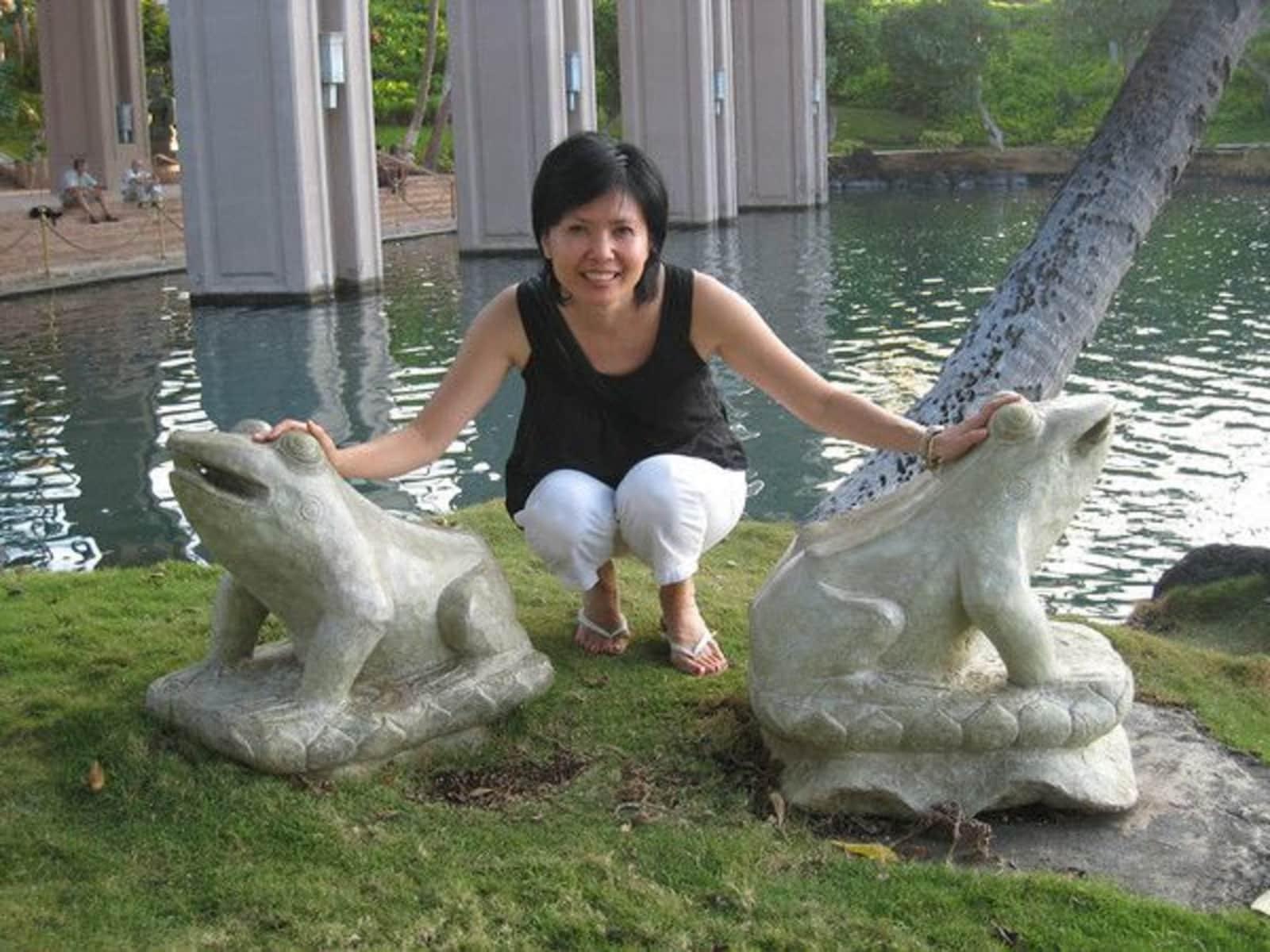 Sharon from Taipei, Taiwan