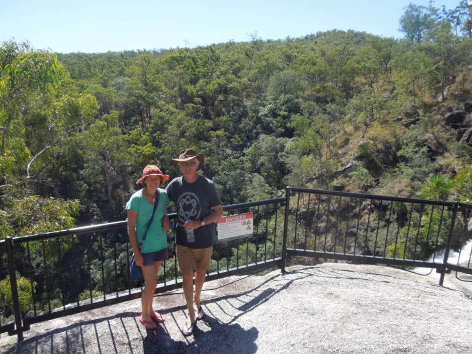 Christine & Murray from Kerikeri, New Zealand