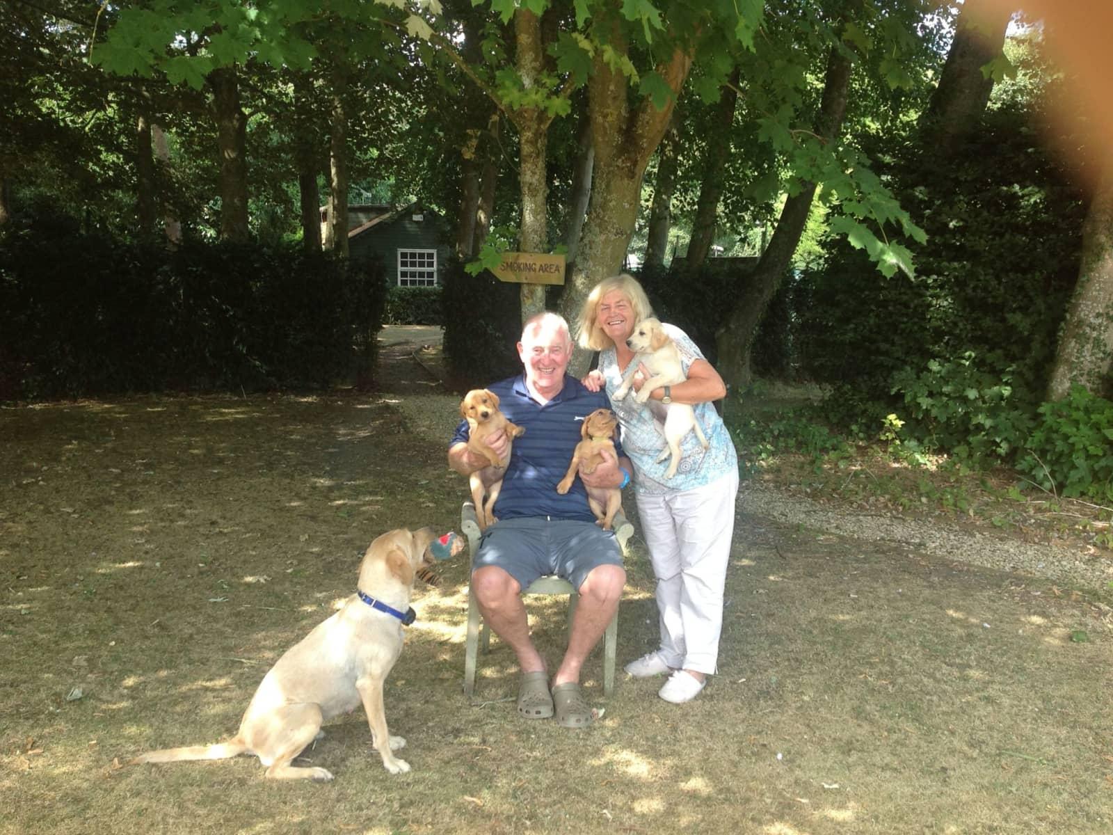 Peter & Hilda from Morpeth, United Kingdom