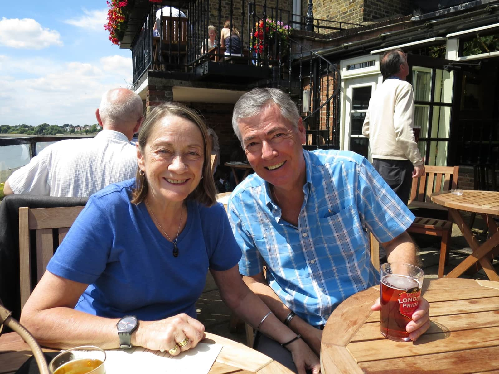 Philip & Diane from London, United Kingdom
