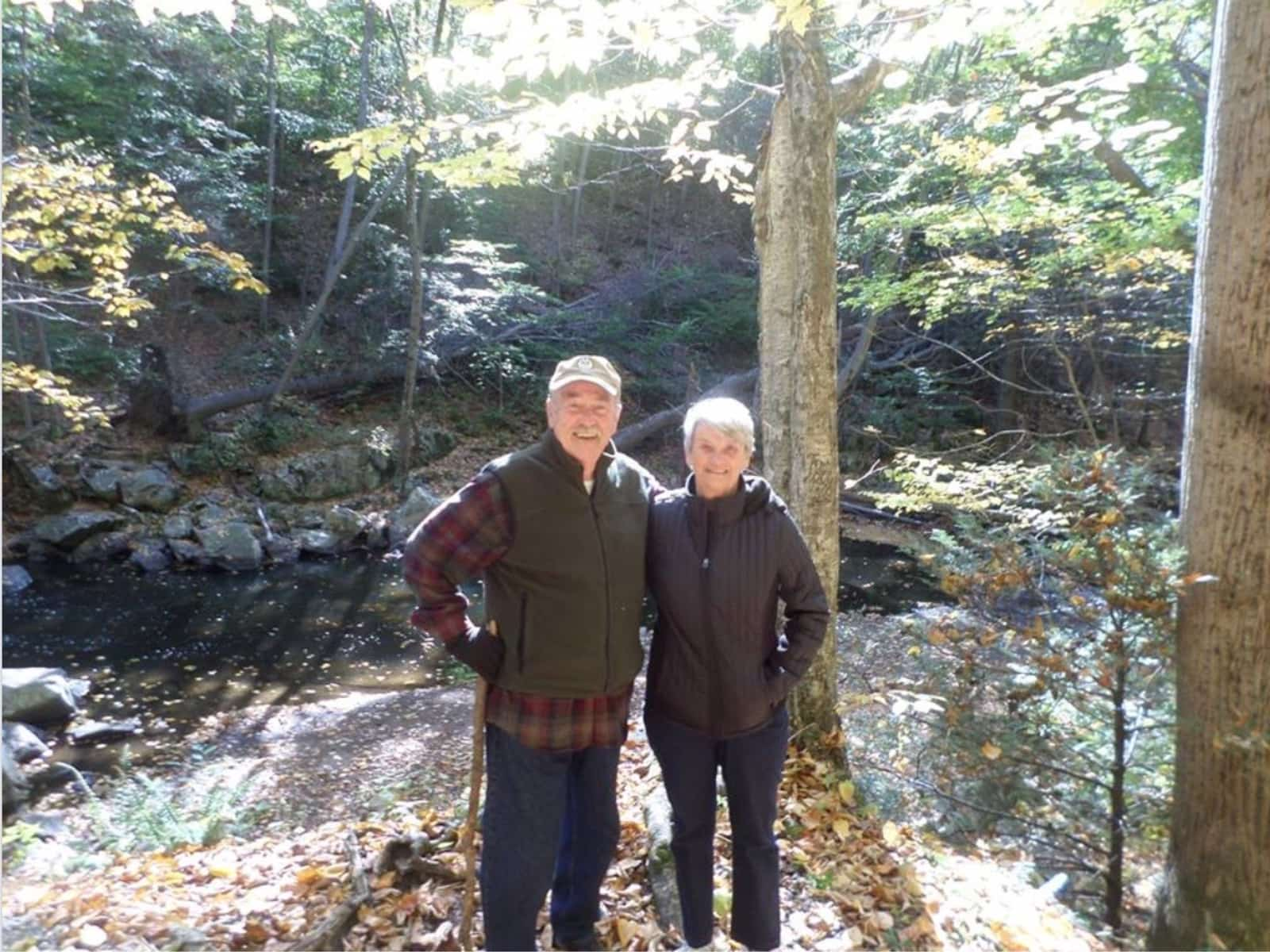 Joan & George from Waterville, Maine, United States