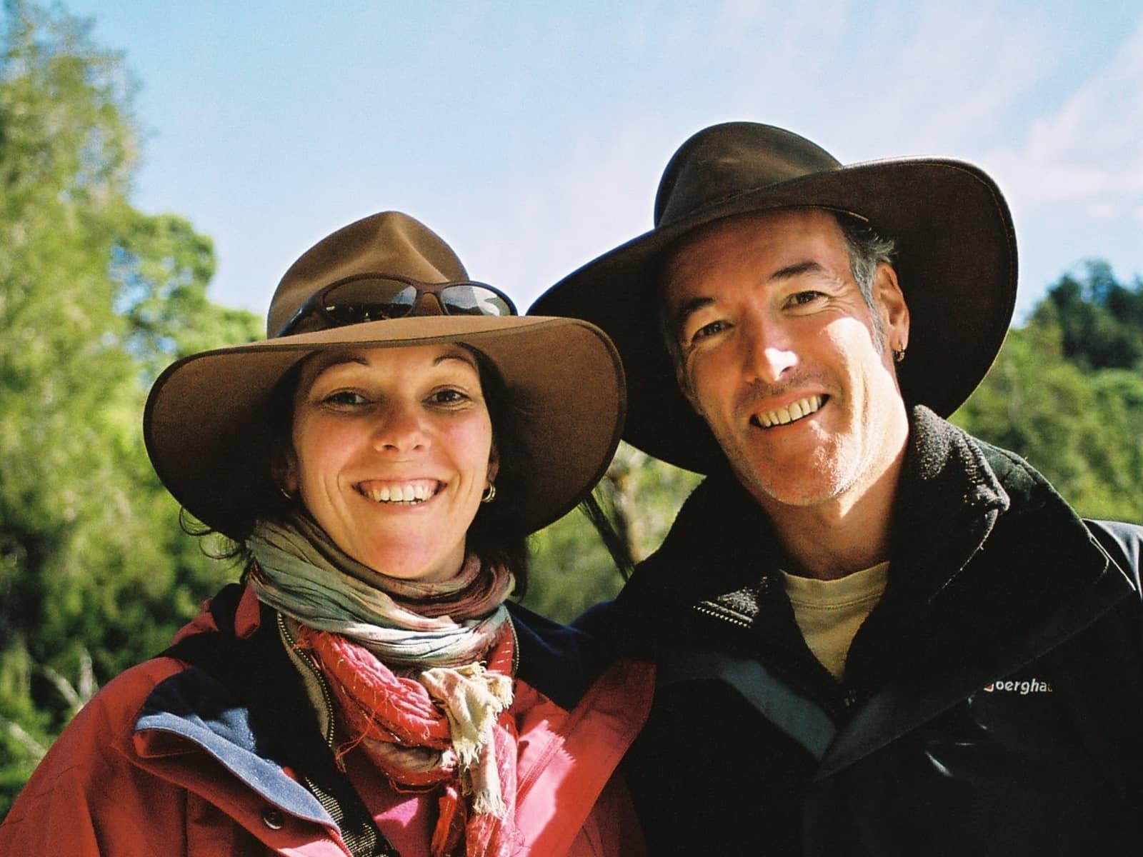 Michelle & Colin from Kinglake, Victoria, Australia