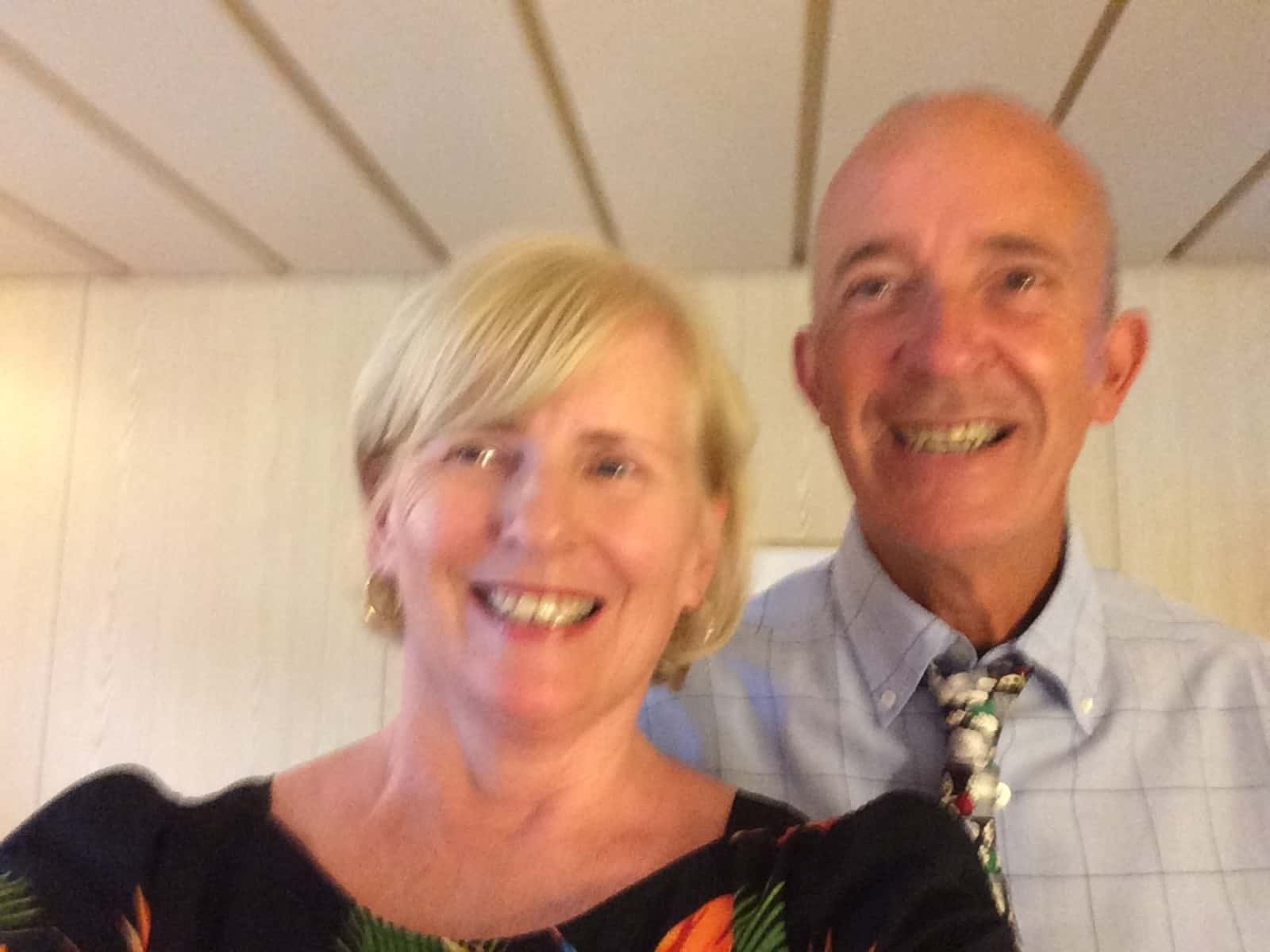 Pam & Barry from Paphos, Cyprus