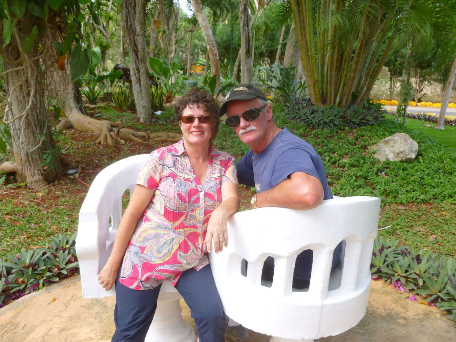 Linda & Chris from Adelaide, South Australia, Australia