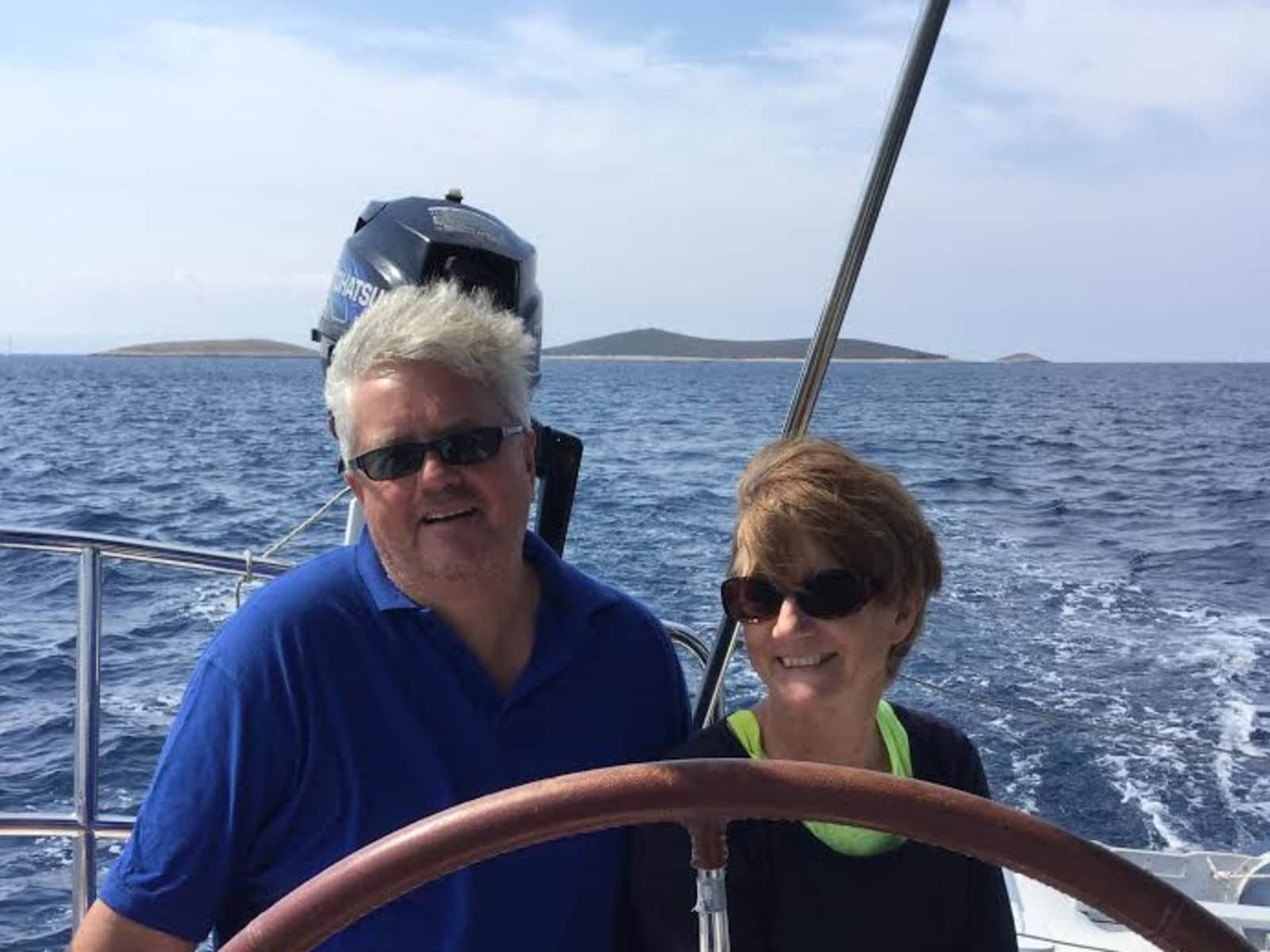 John & Lesley from Sevenoaks, United Kingdom