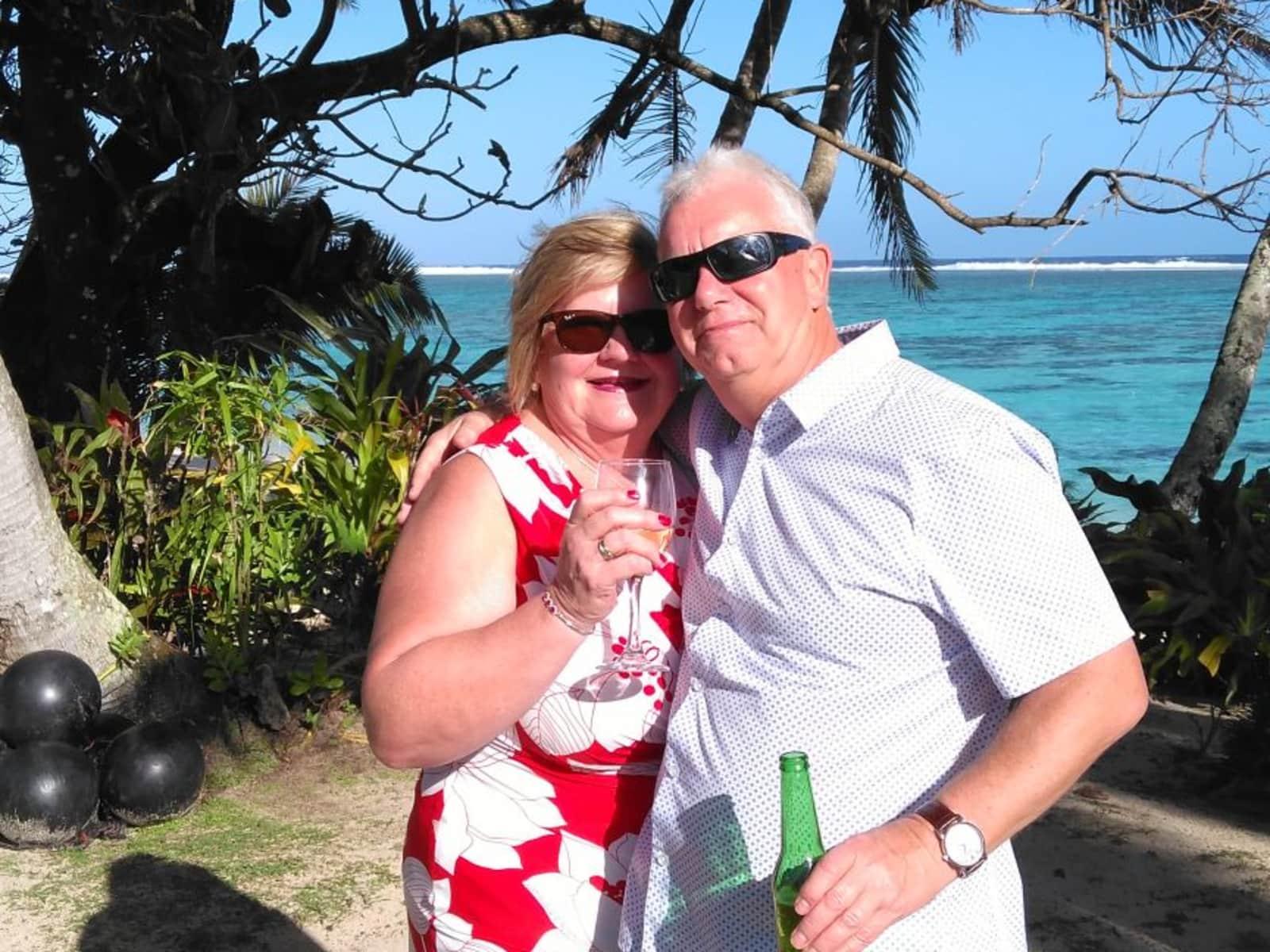 Tim & Yvonne from Wellington, New Zealand