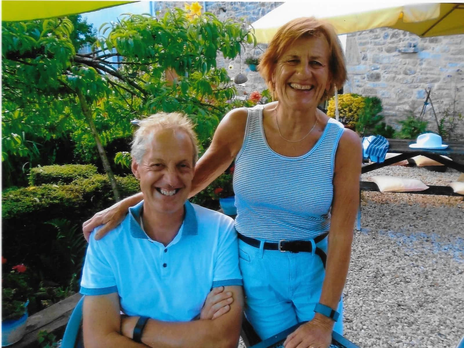 Barbara and tim & Tim from Noyal-Muzillac, France