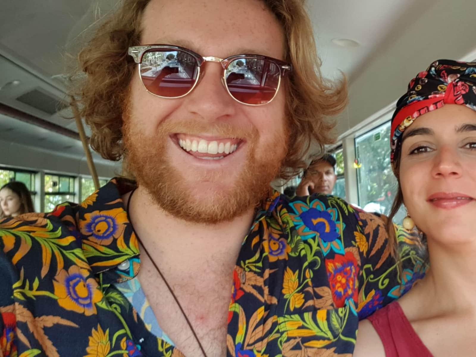 Joseph & Carlota from Canberra, Australian Capital Territory, Australia