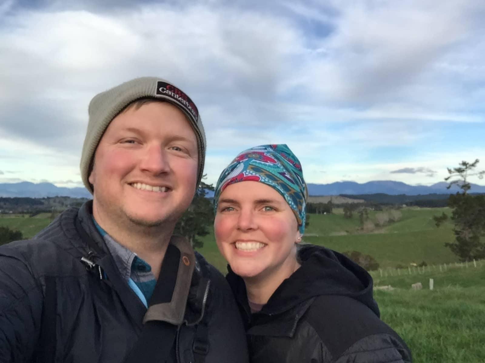 Travis & Elizabeth from Hamilton, New Zealand