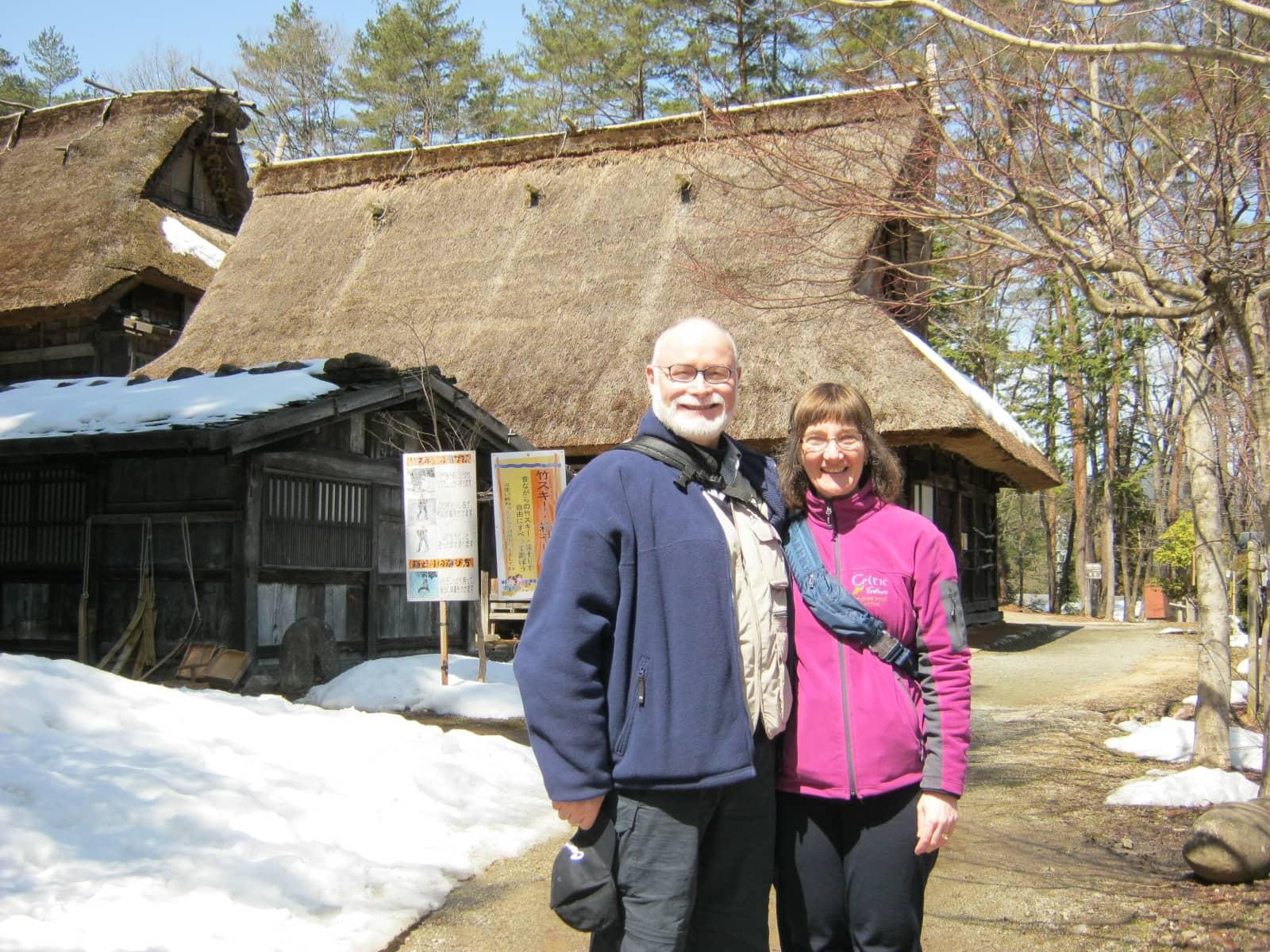 Sally & James from Amherst, Nova Scotia, Canada