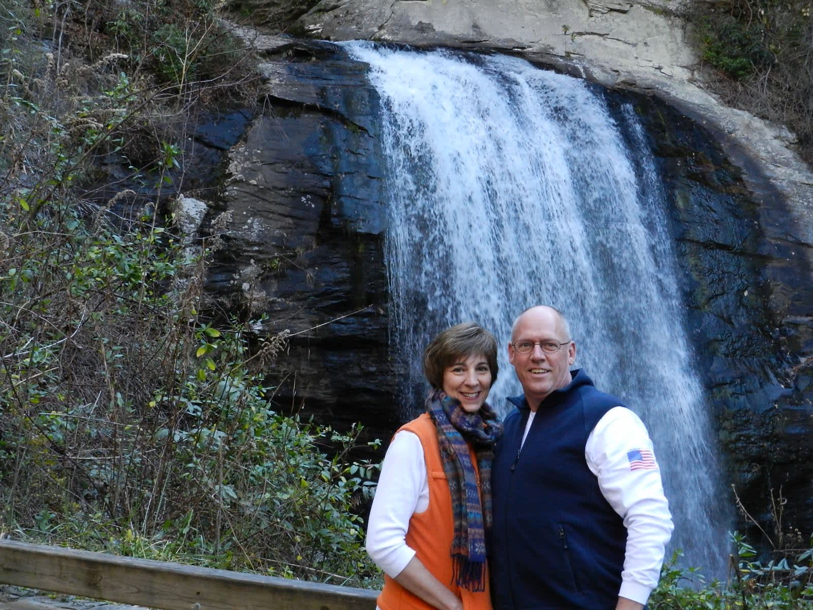 David & Cindy from Brevard, North Carolina, United States