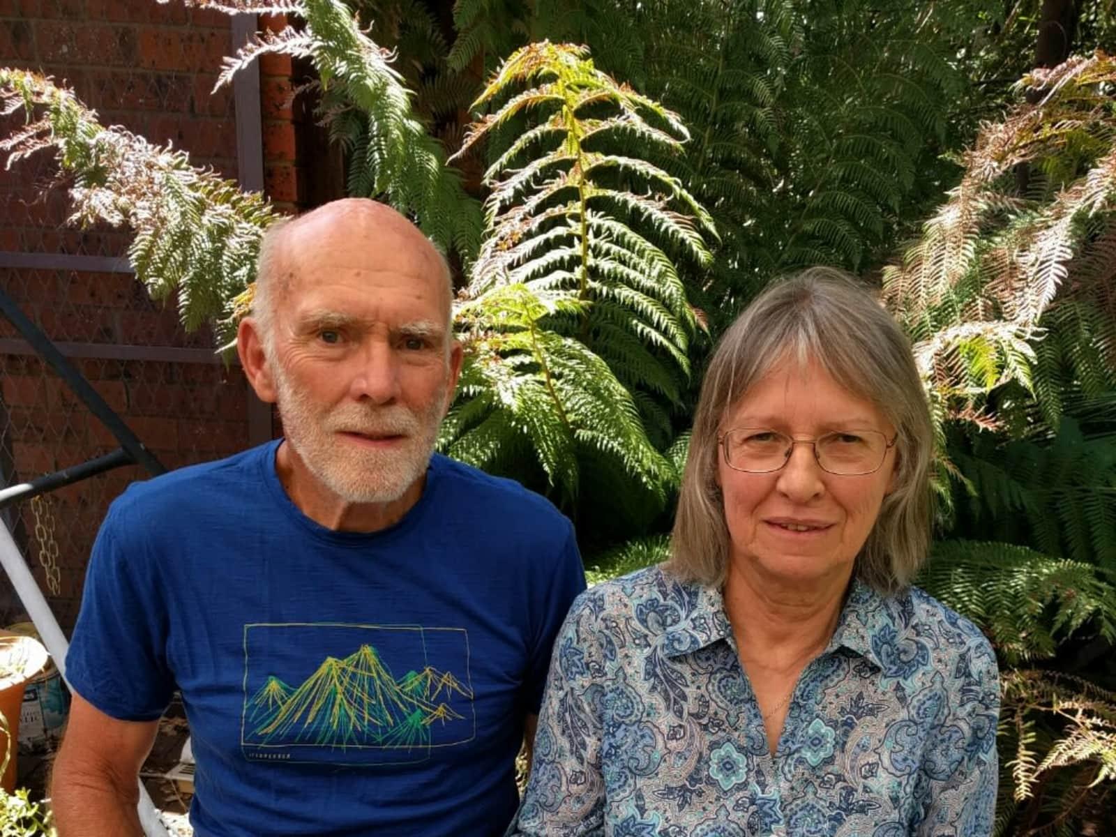 Lorraine & Hugh from Canberra, Australian Capital Territory, Australia