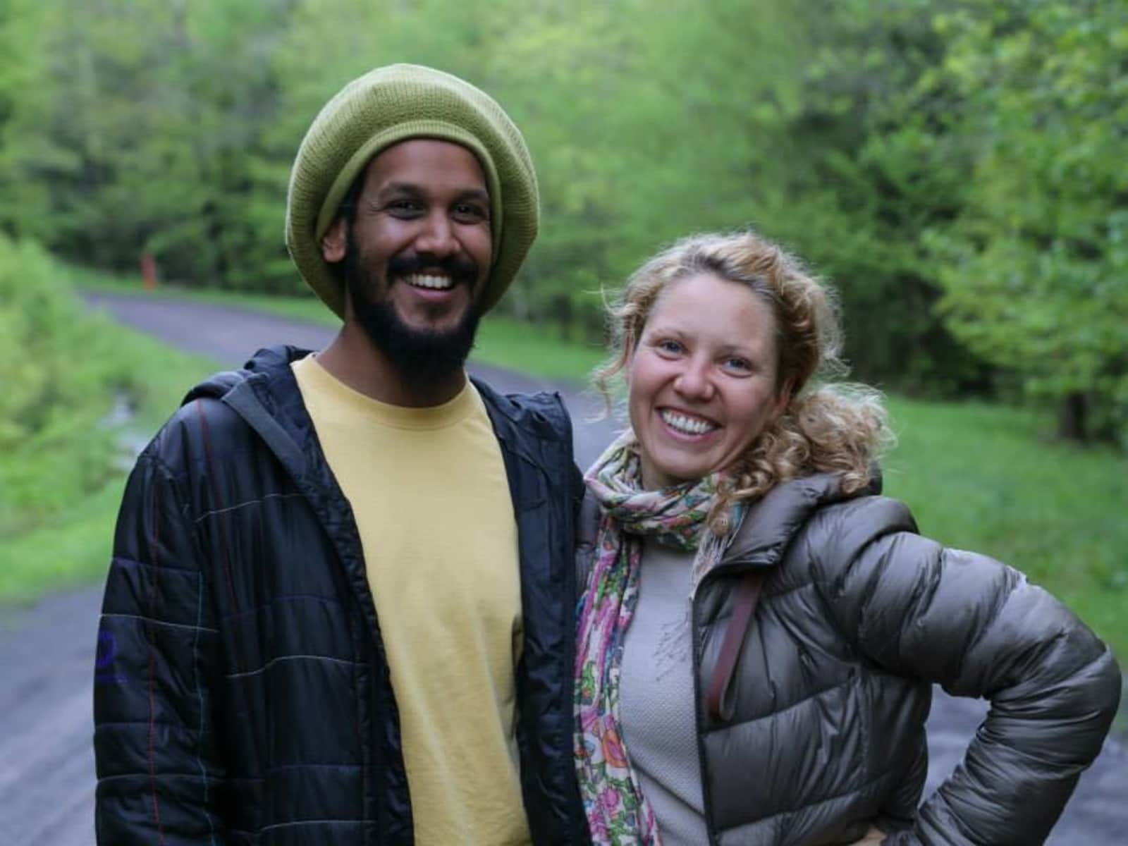 Catherine & Adjmal from Brooklyn, New York, United States