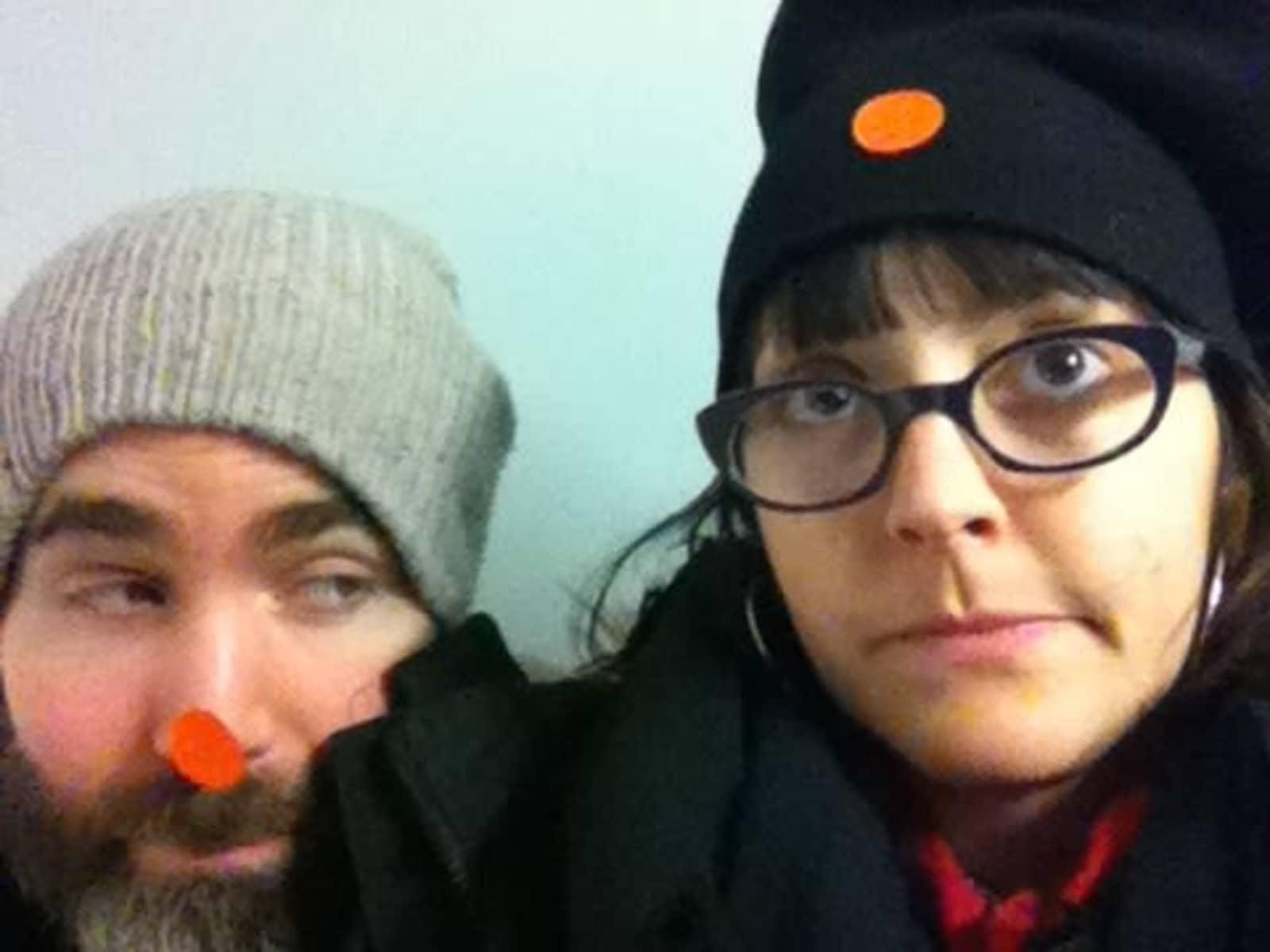 Sarah & Benjamin from Hastings, United Kingdom