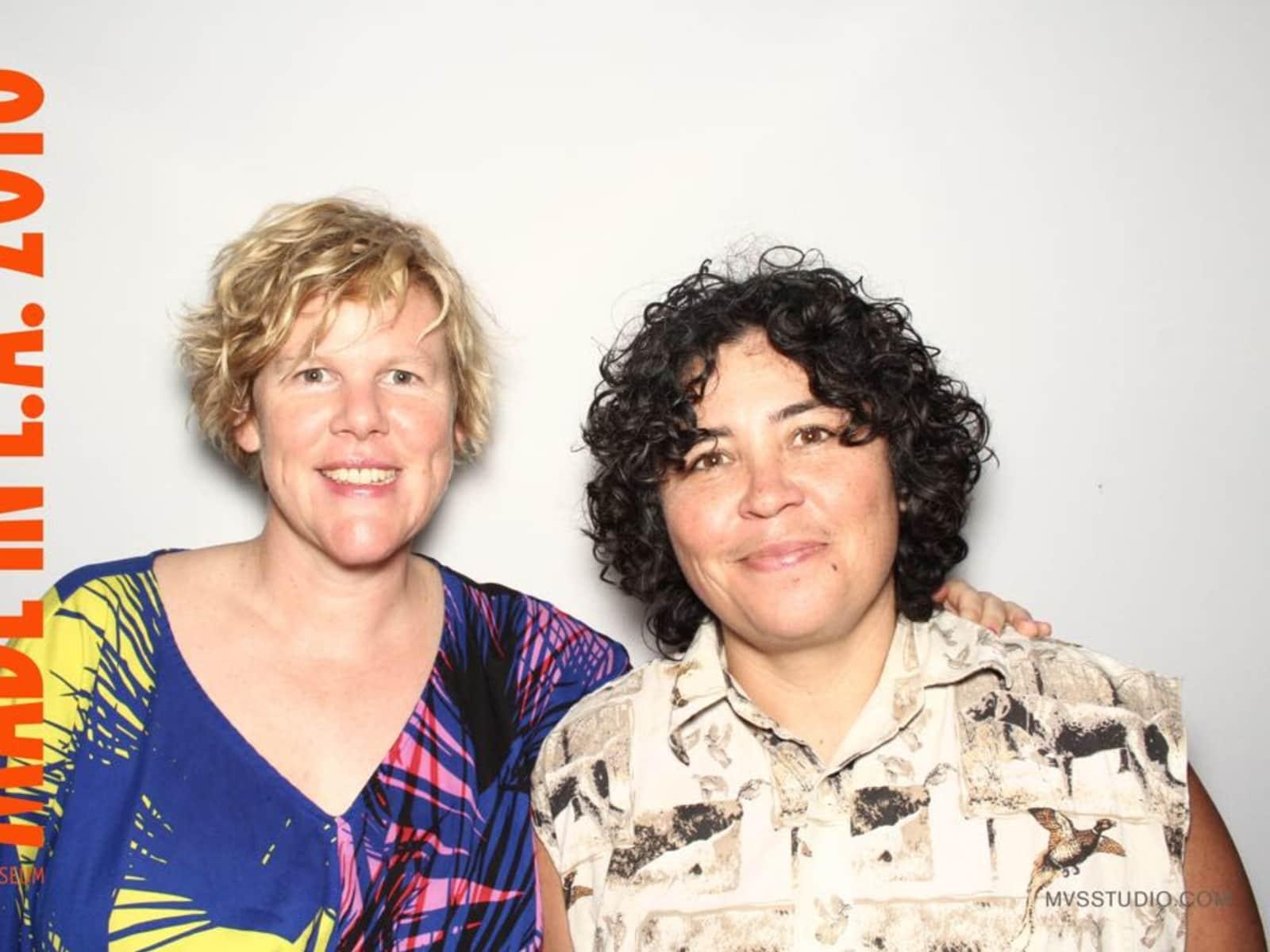Kanchi & Lorrie from Berlin, Germany