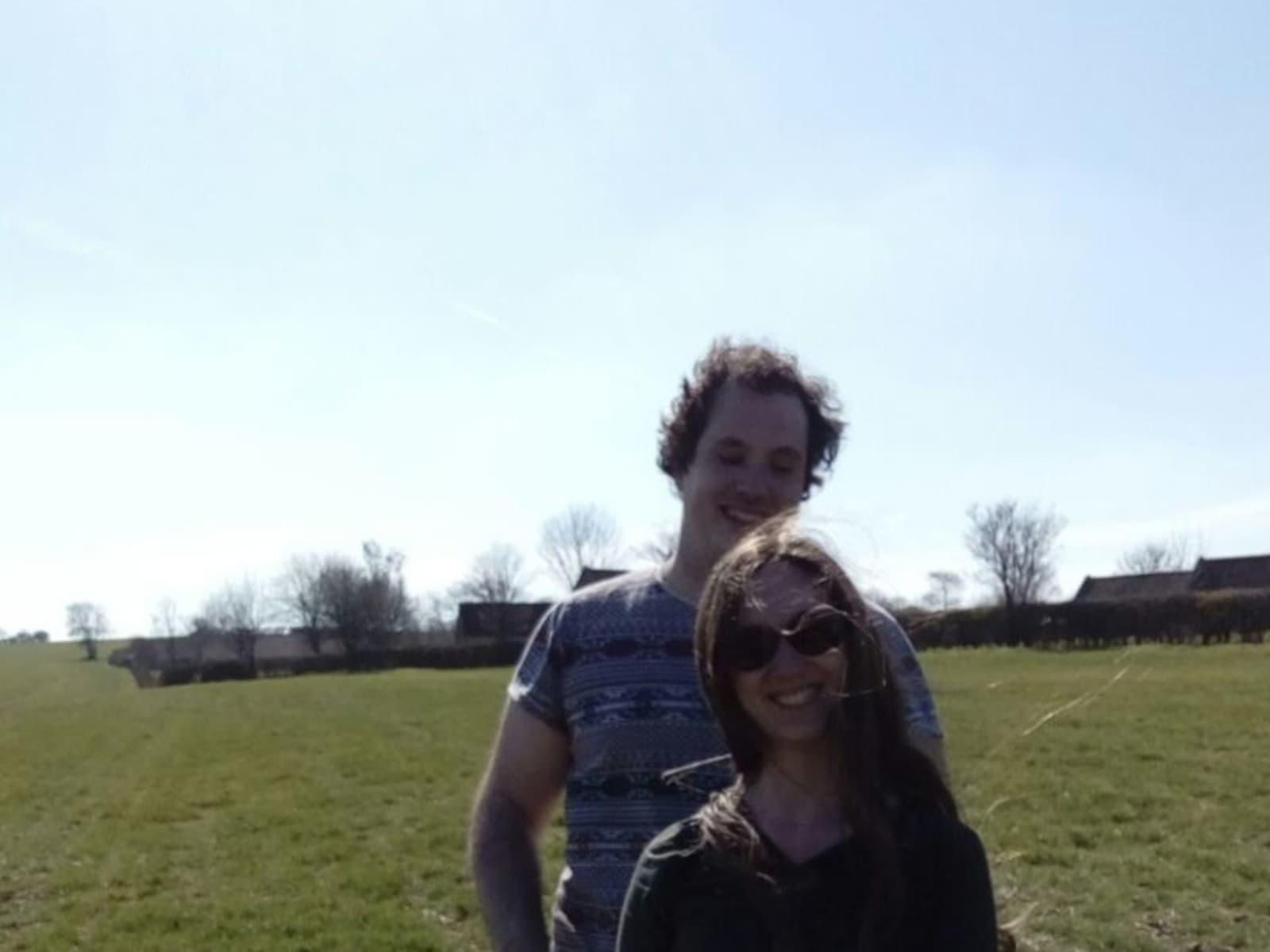 Eilish & Dan from Reading, United Kingdom