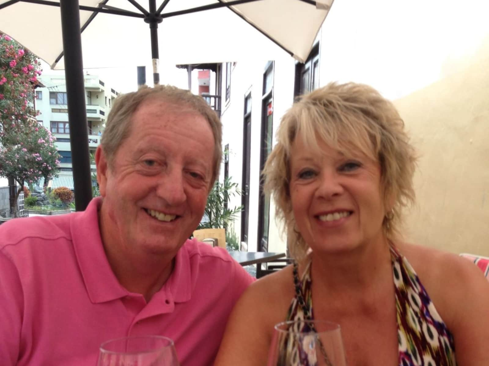Joan & Alan from St Helens, United Kingdom