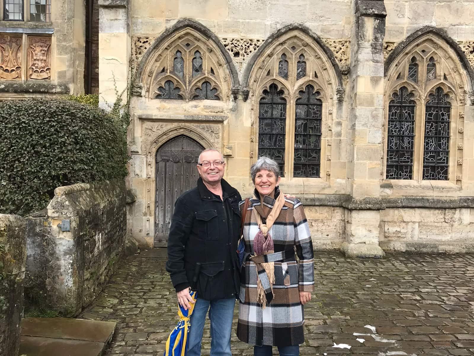 Sandra & Gary from Brighton, United Kingdom