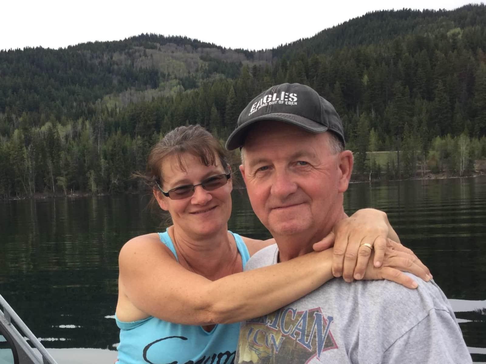 Sheila & Larry from Okanagan Falls, British Columbia, Canada