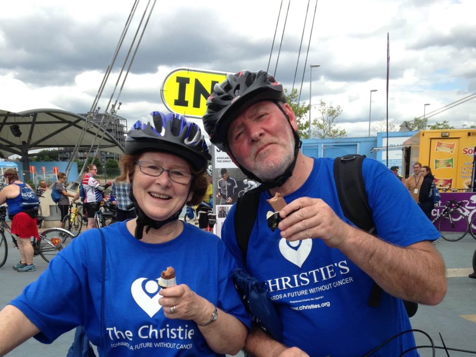 Pauline & Peter from Manchester City Centre, United Kingdom
