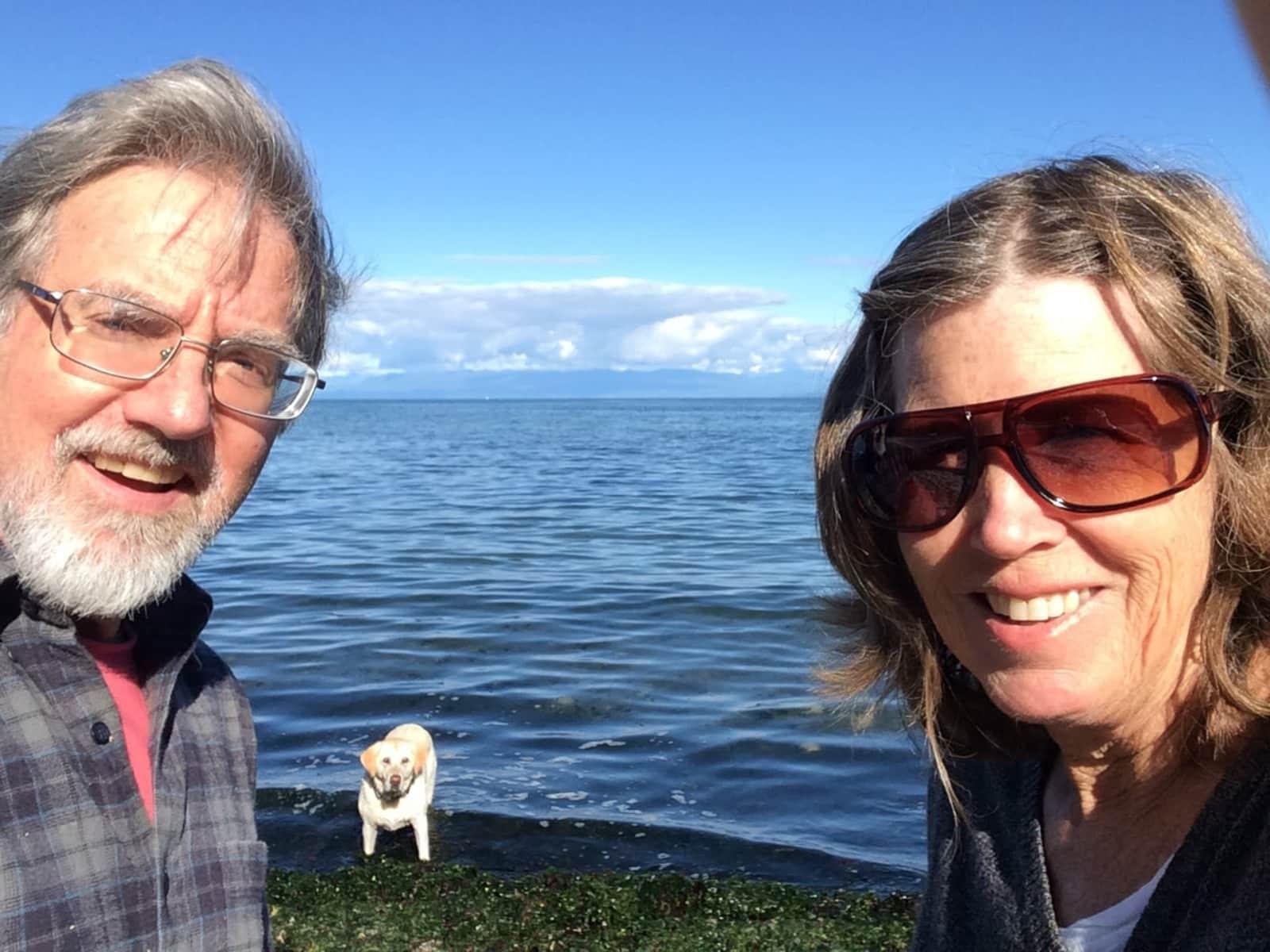 Judith & James from Comox, British Columbia, Canada