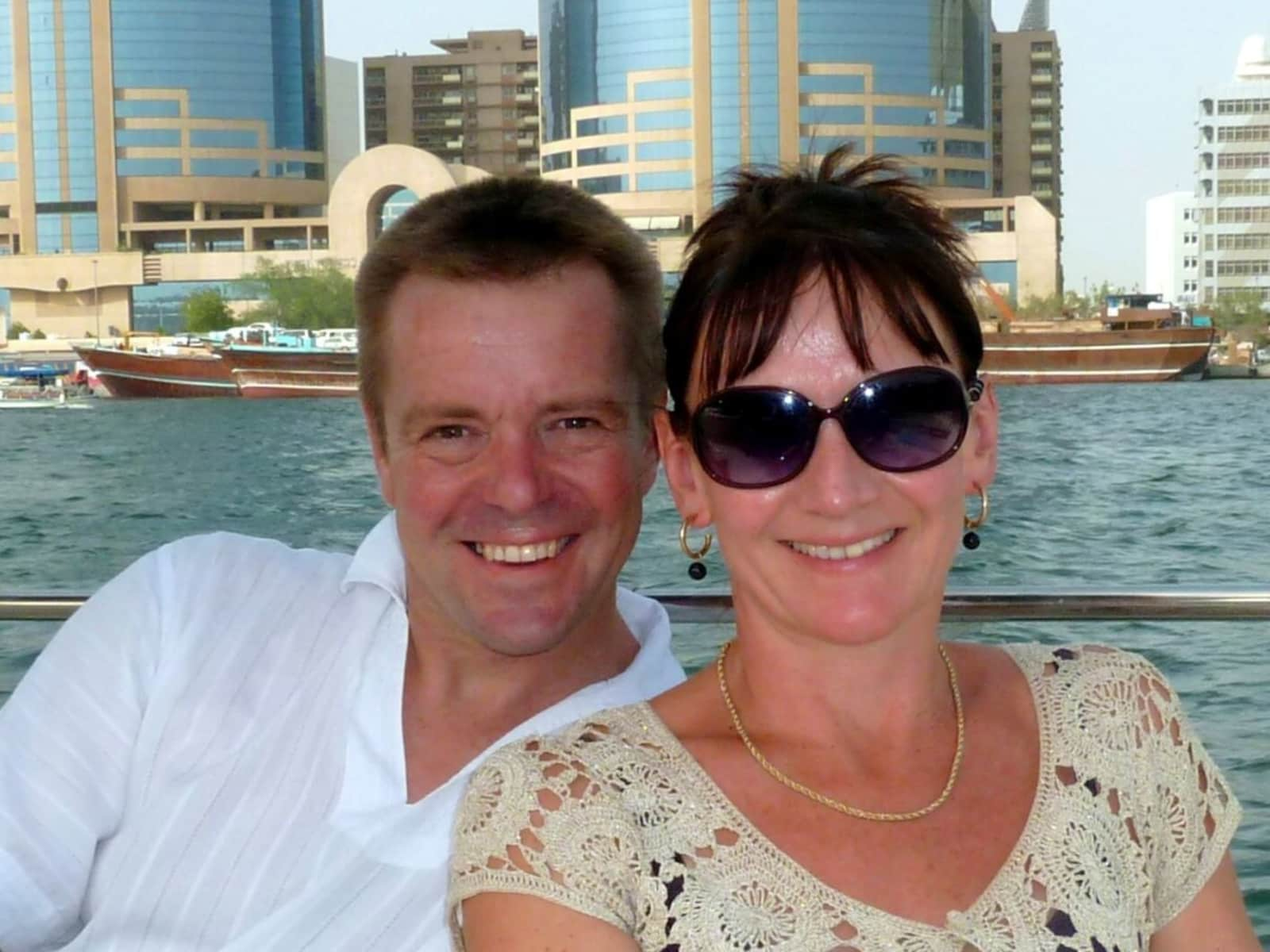 Carol & David from Lichfield, United Kingdom