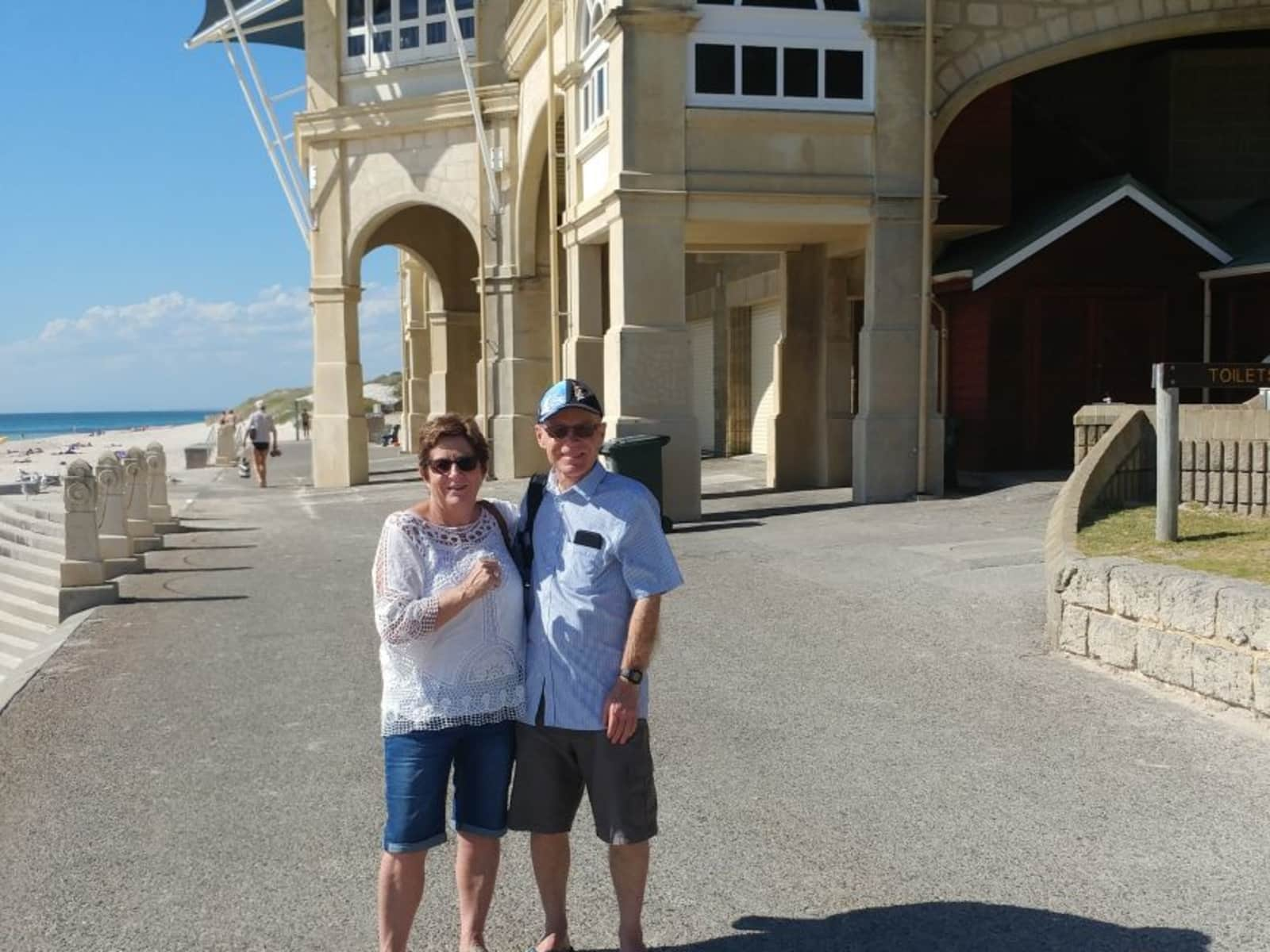 Marcia & Brian from Gisborne, New Zealand
