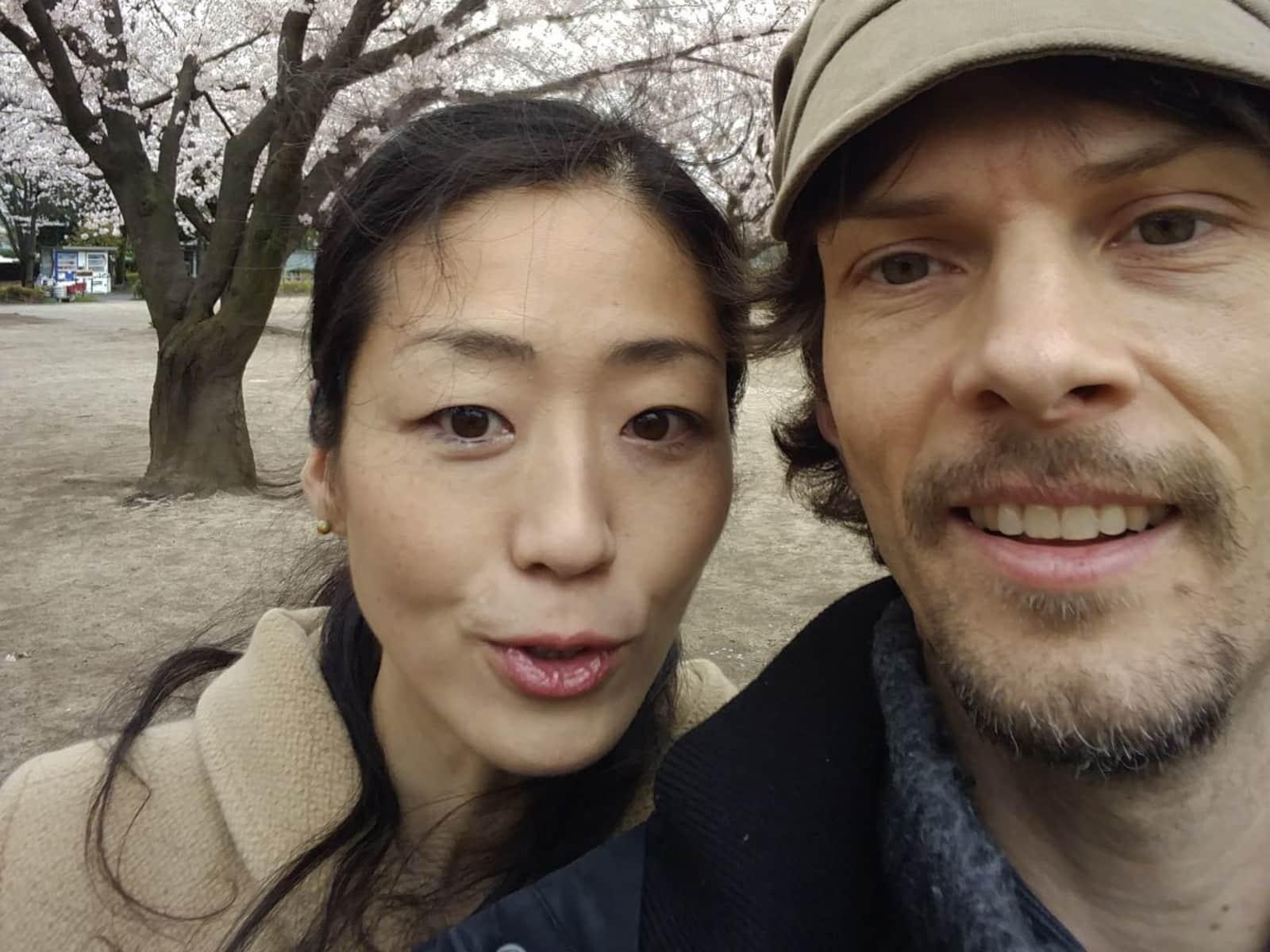 Adam & Utako from Fukagawa-Heikyūchō, Japan