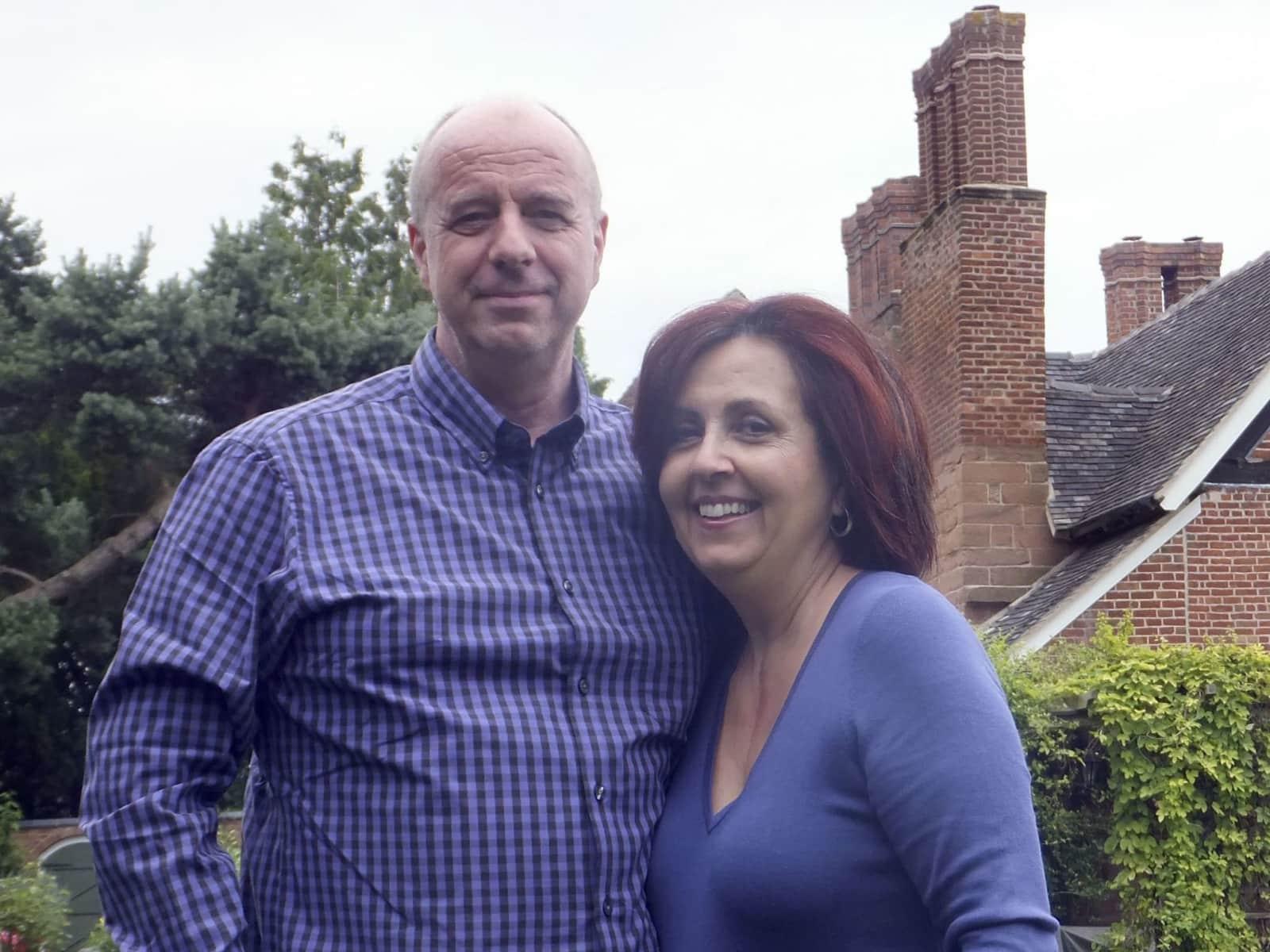 Narinder & Robert from Albrighton, United Kingdom