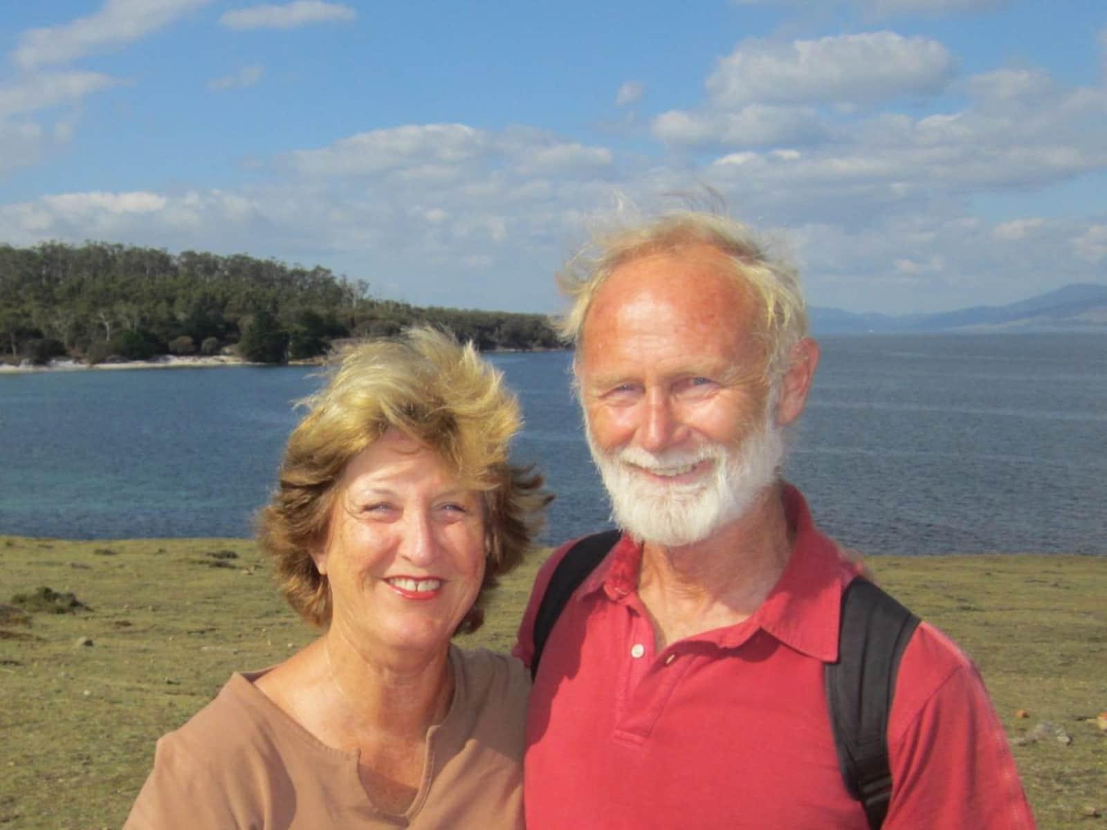 Sue & Christopher from Hobart, Tasmania, Australia
