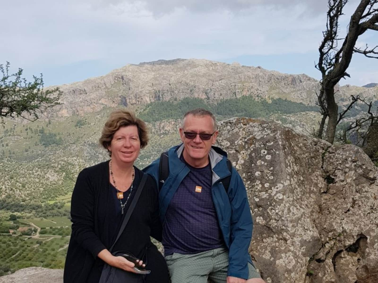 Richard & Caroline from Perth, Western Australia, Australia