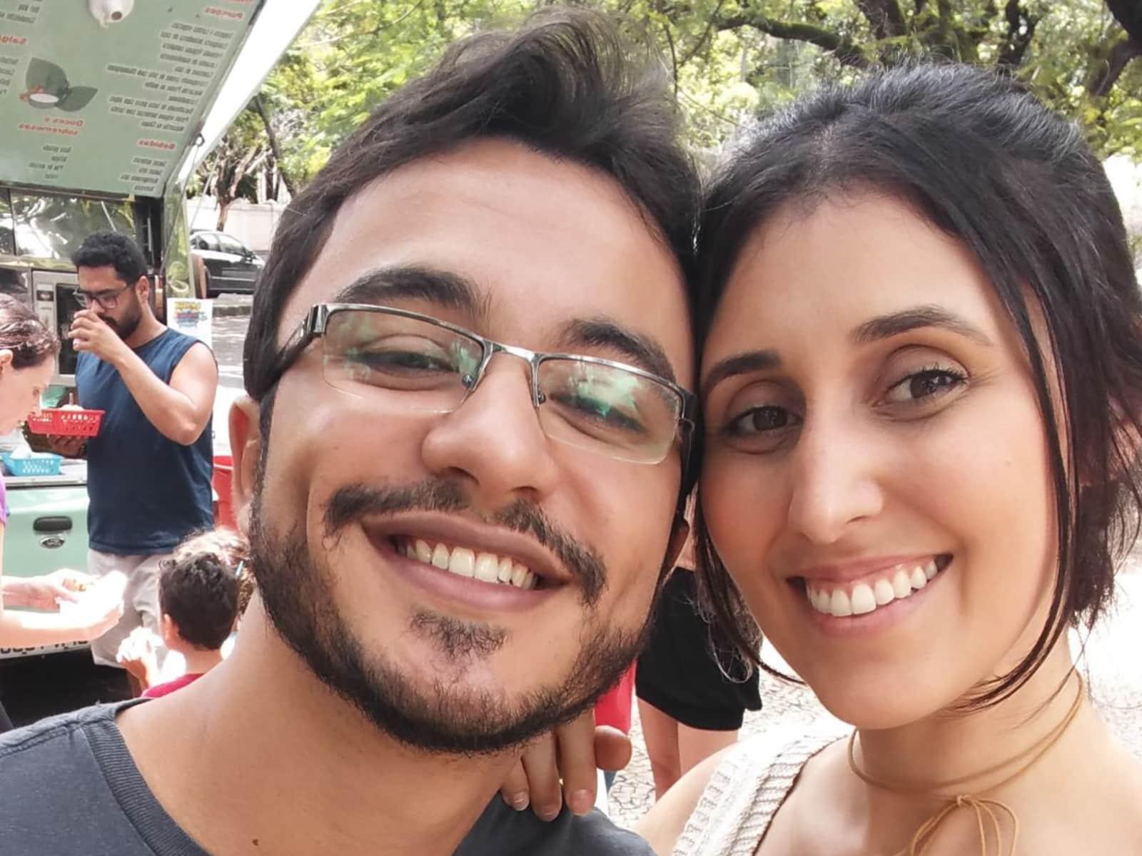 Jean & Isabela from Belo Horizonte, Brazil
